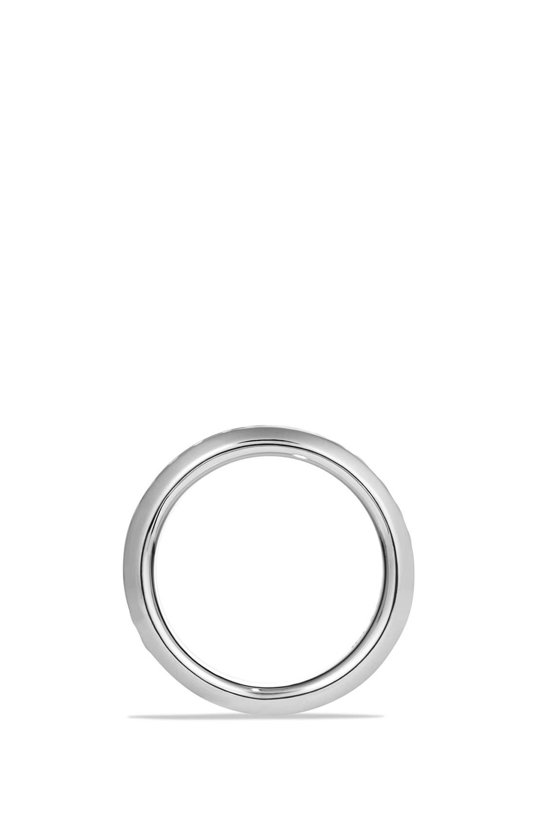 'Classic Cable' Band Ring,                             Alternate thumbnail 3, color,                             SILVER