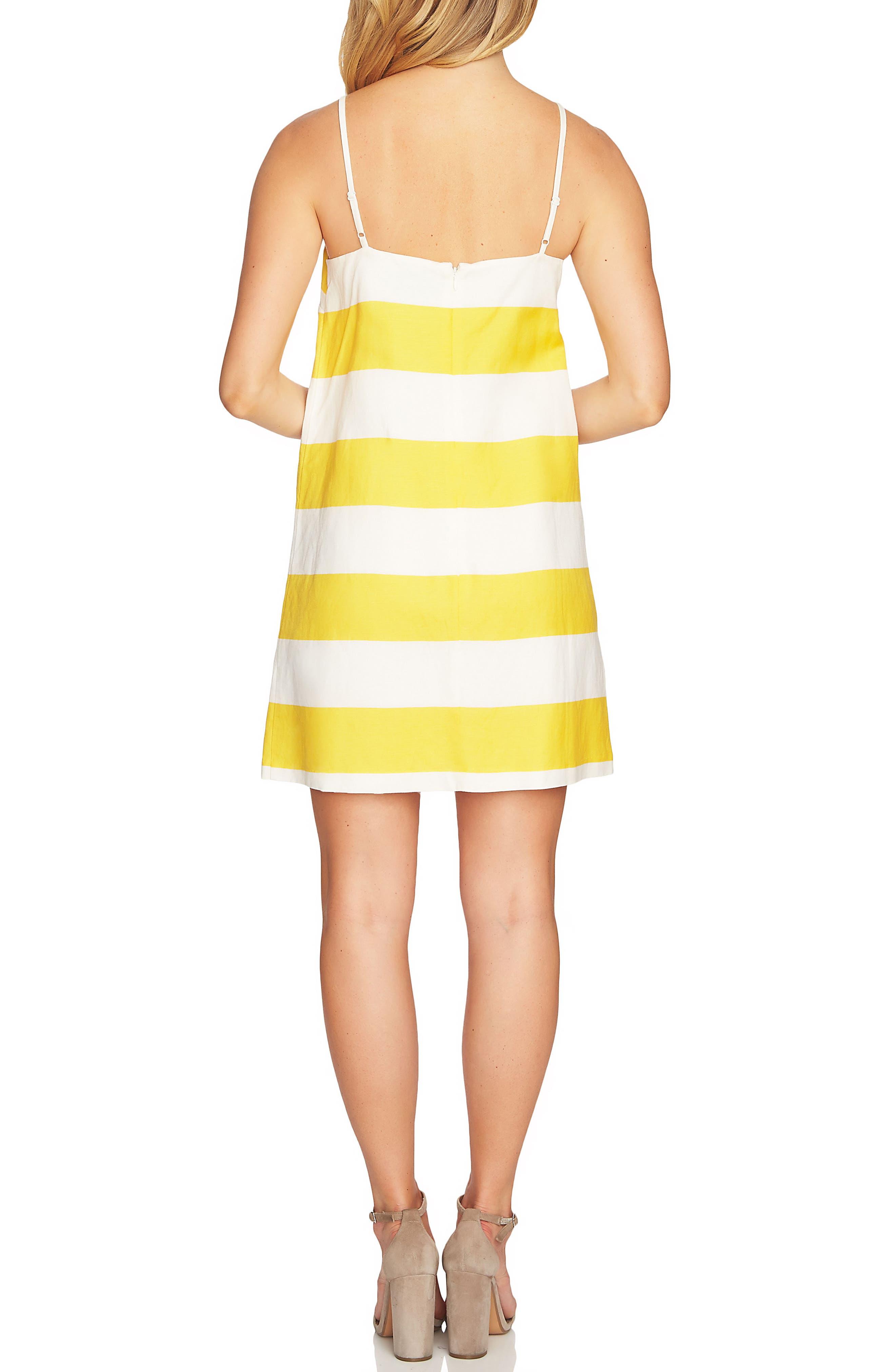Carnival Stripe Dress,                             Alternate thumbnail 7, color,