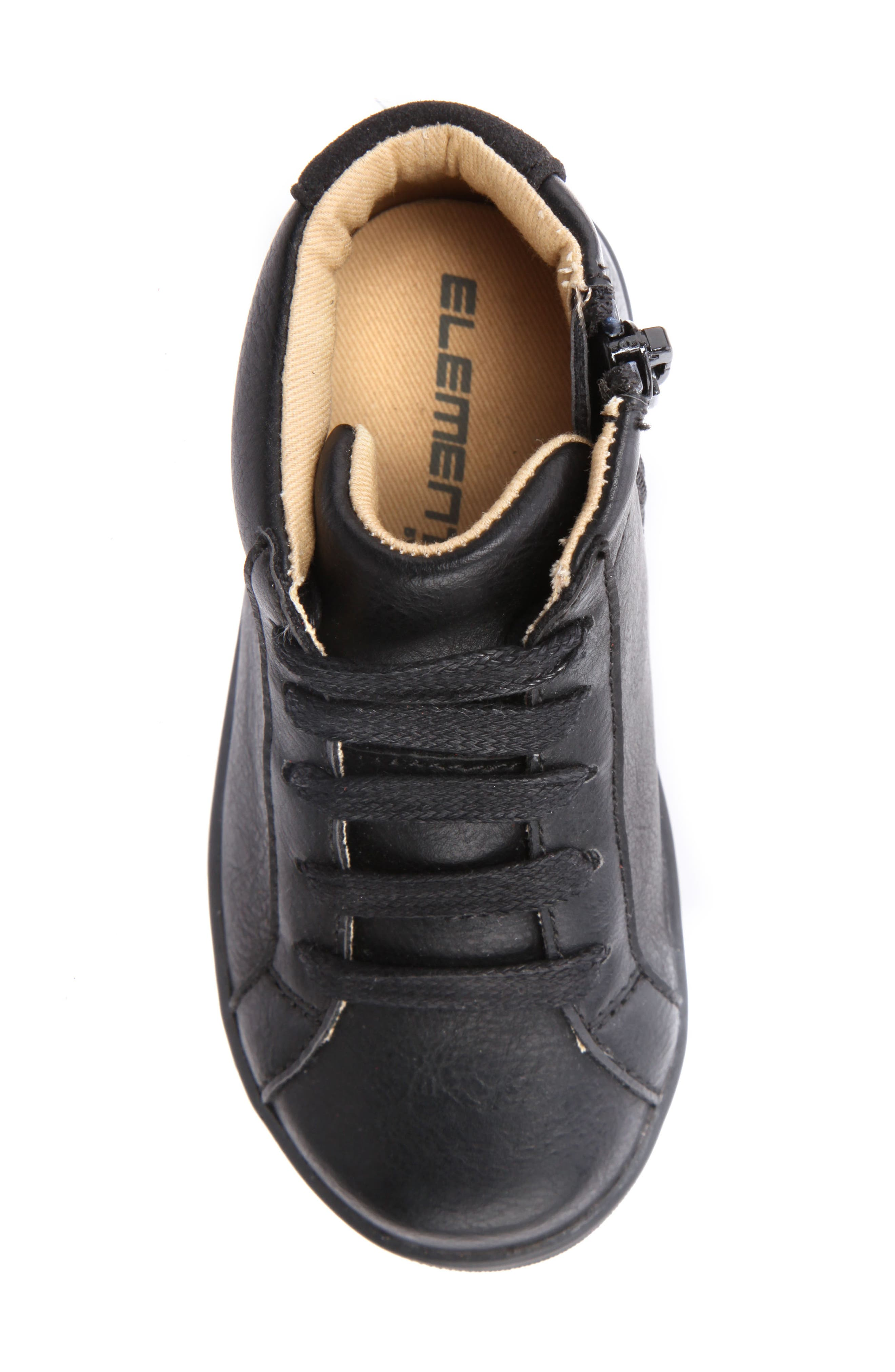 Ricky Mid Top Zip Sneaker,                             Alternate thumbnail 9, color,