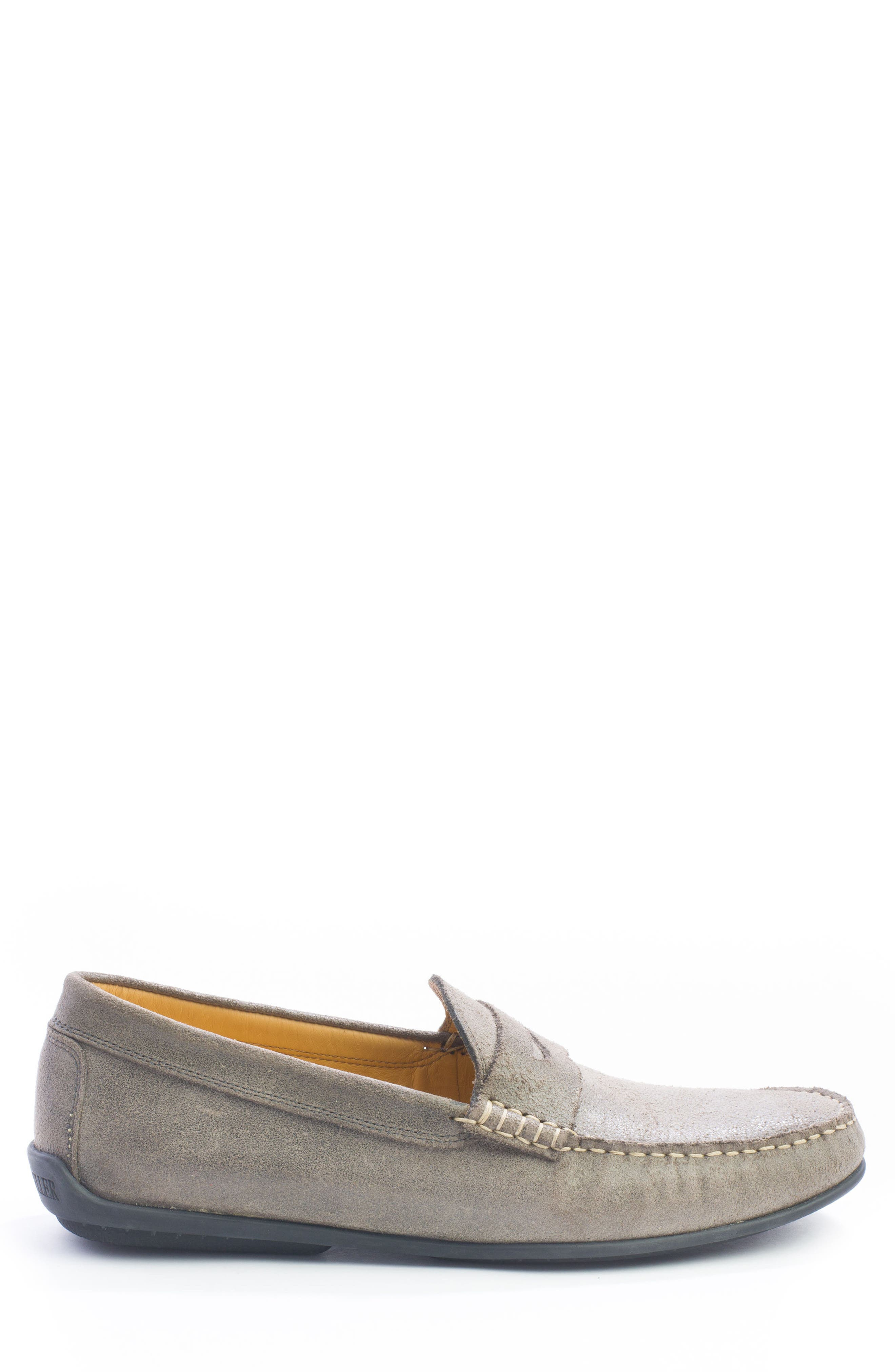 Barretts Penny Loafer,                             Alternate thumbnail 3, color,                             GREY