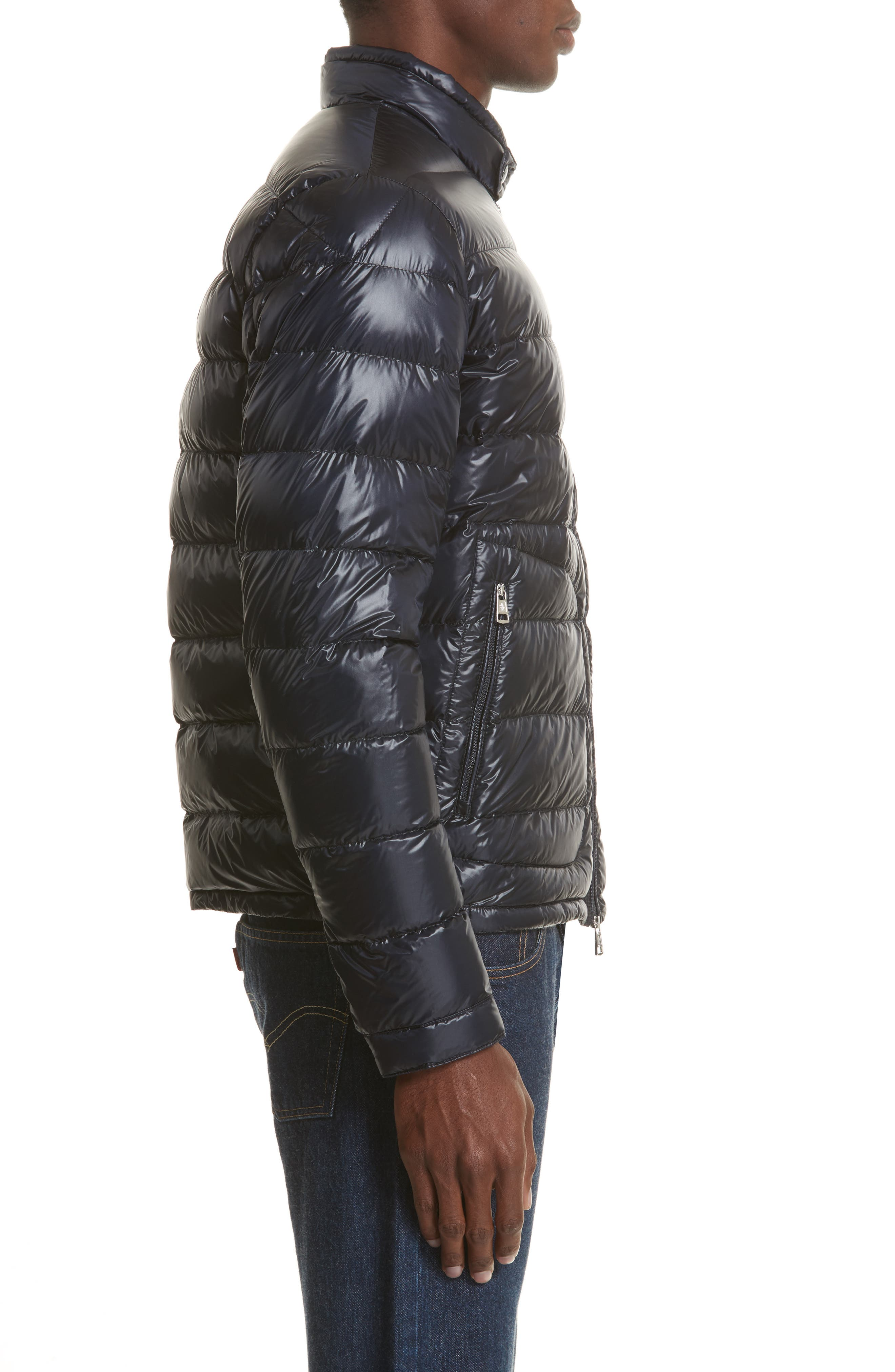 Acorus Down Quilted Jacket,                             Alternate thumbnail 3, color,                             BLUE
