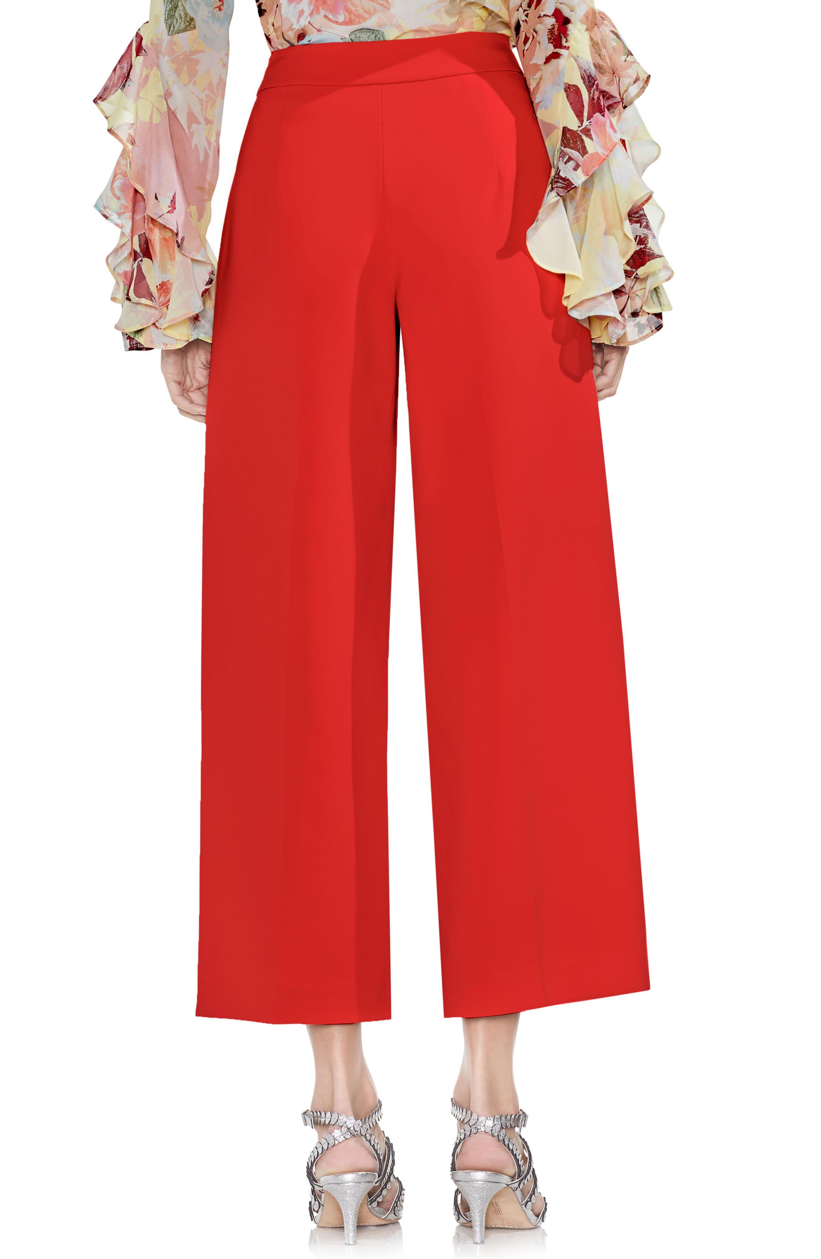 High-Waist Crop Pants,                             Alternate thumbnail 8, color,