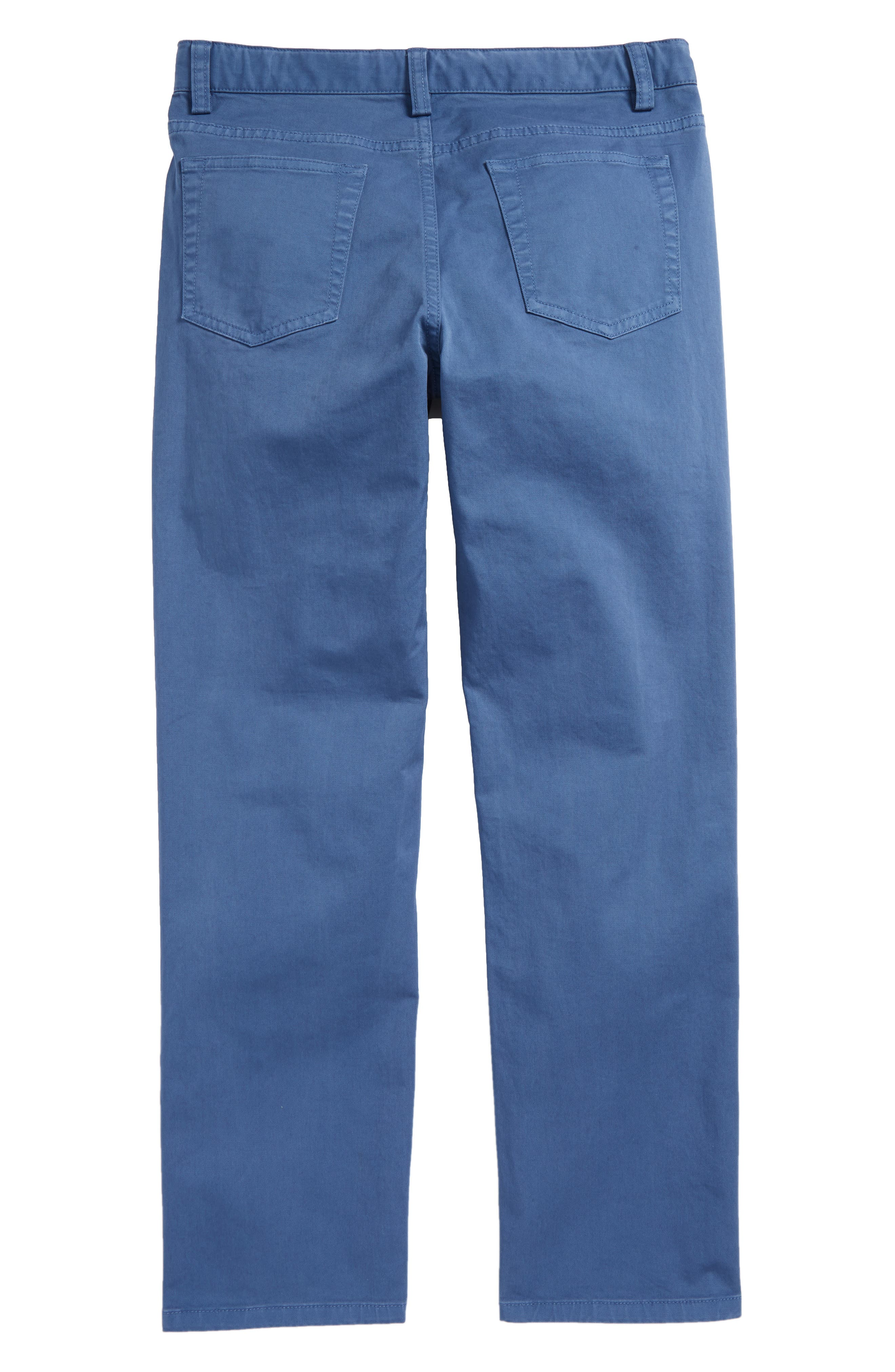 Stretch Twill Pants,                             Alternate thumbnail 4, color,