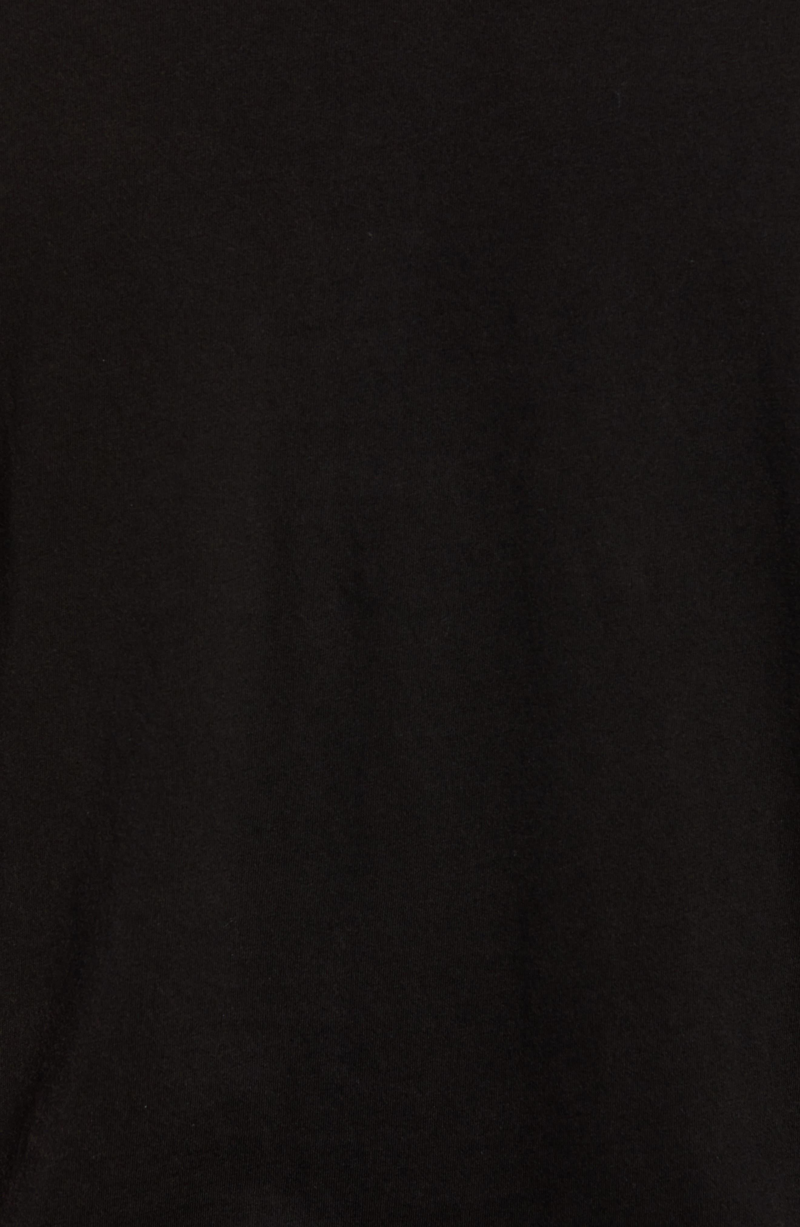 Skullhawks Graphic T-Shirt,                             Alternate thumbnail 5, color,                             BLACK