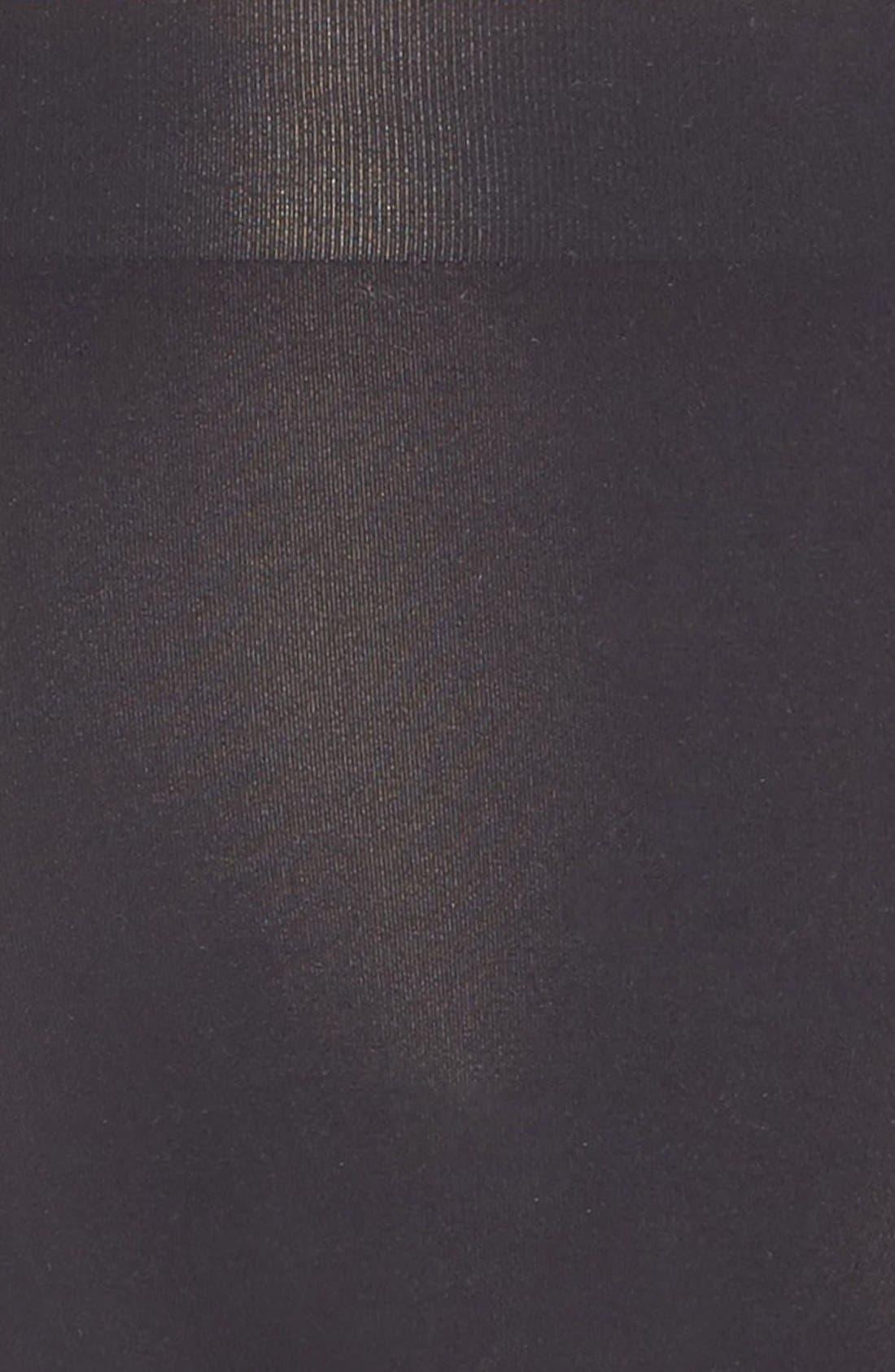 'Skinsense' Seamless Briefs,                             Alternate thumbnail 4, color,                             BLACK