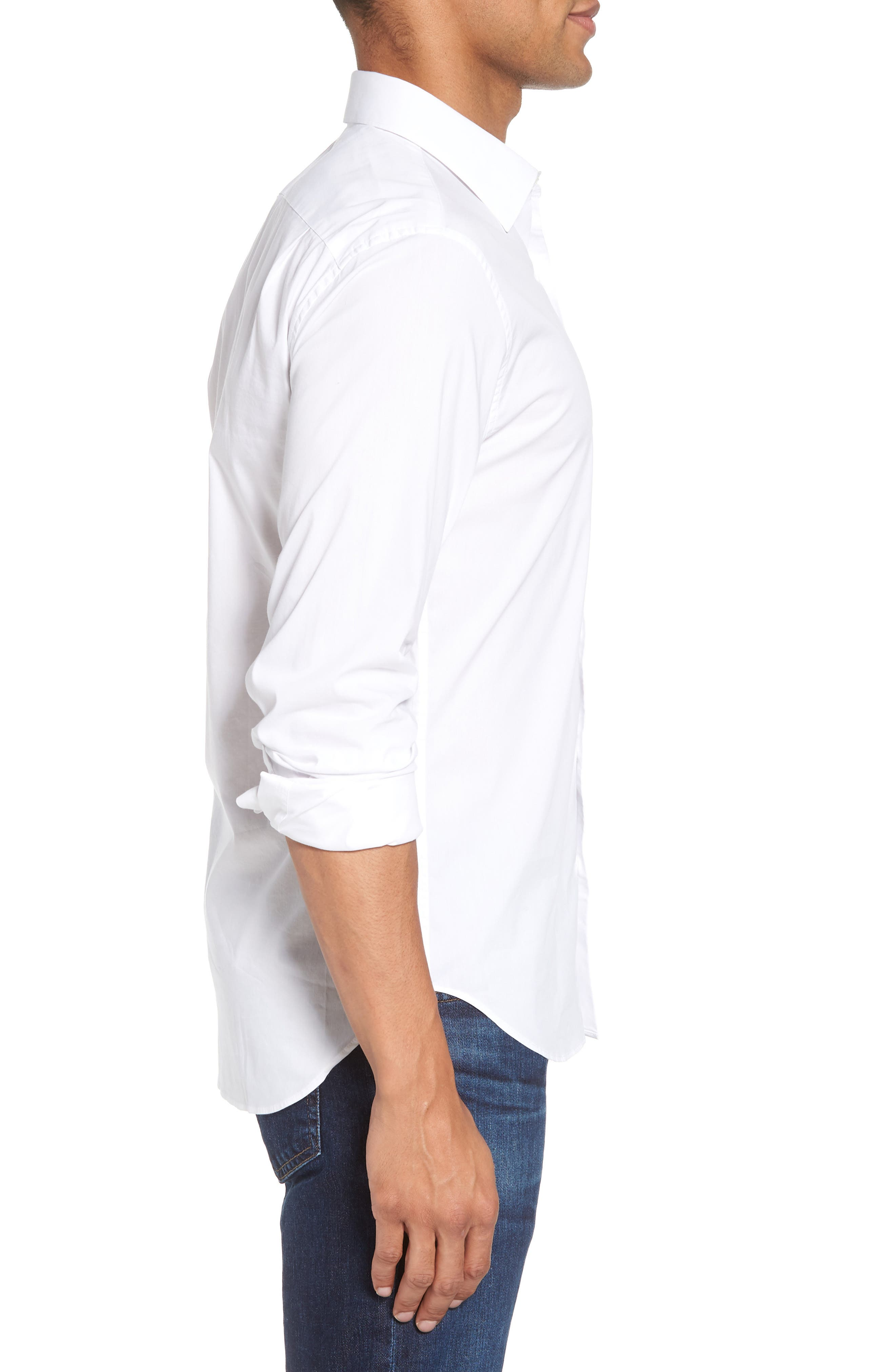 Unbutton Down 2.0 Slim Fit Sport Shirt,                             Alternate thumbnail 10, color,