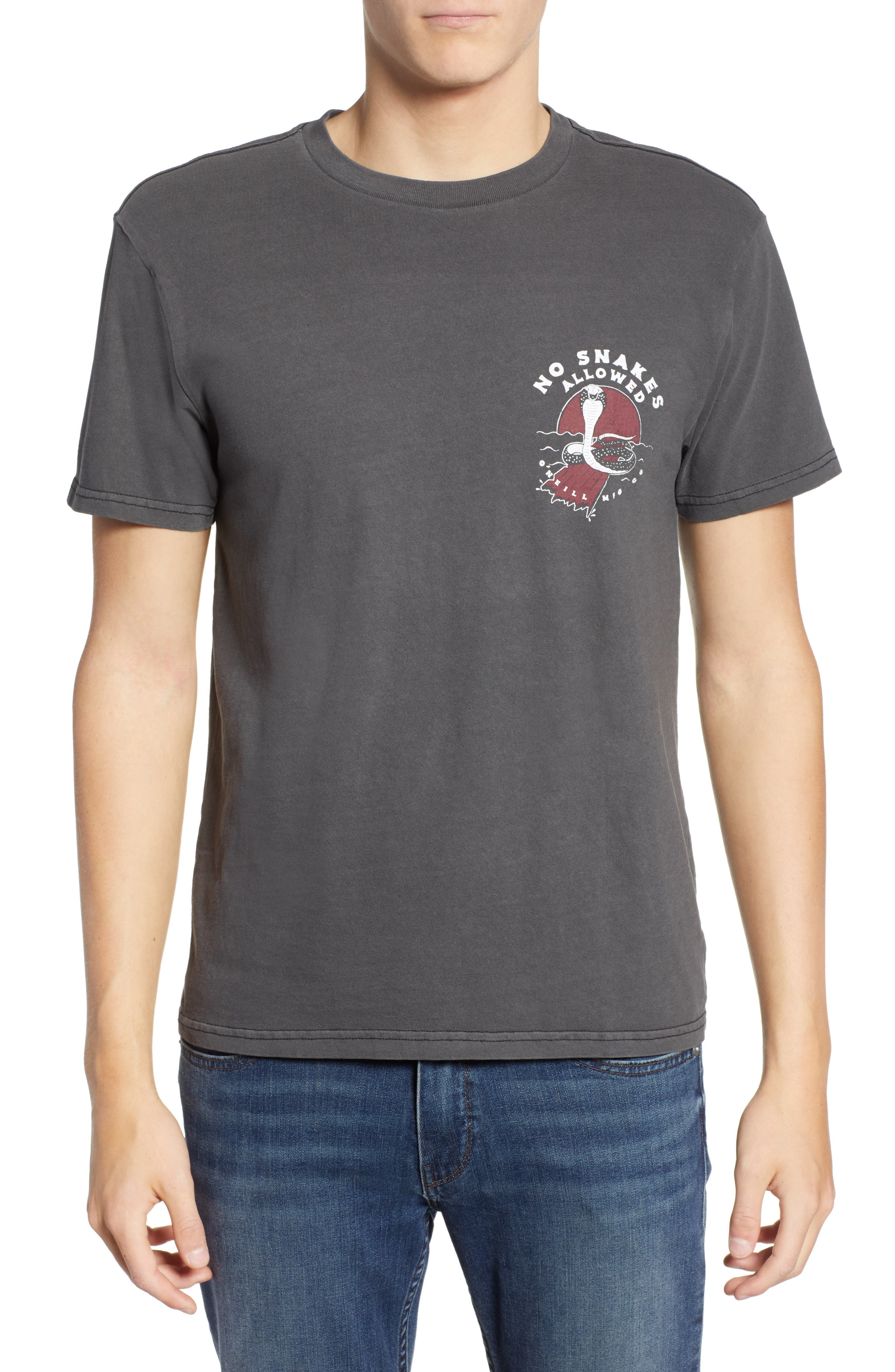 Snaked Graphic T-Shirt,                         Main,                         color, 001