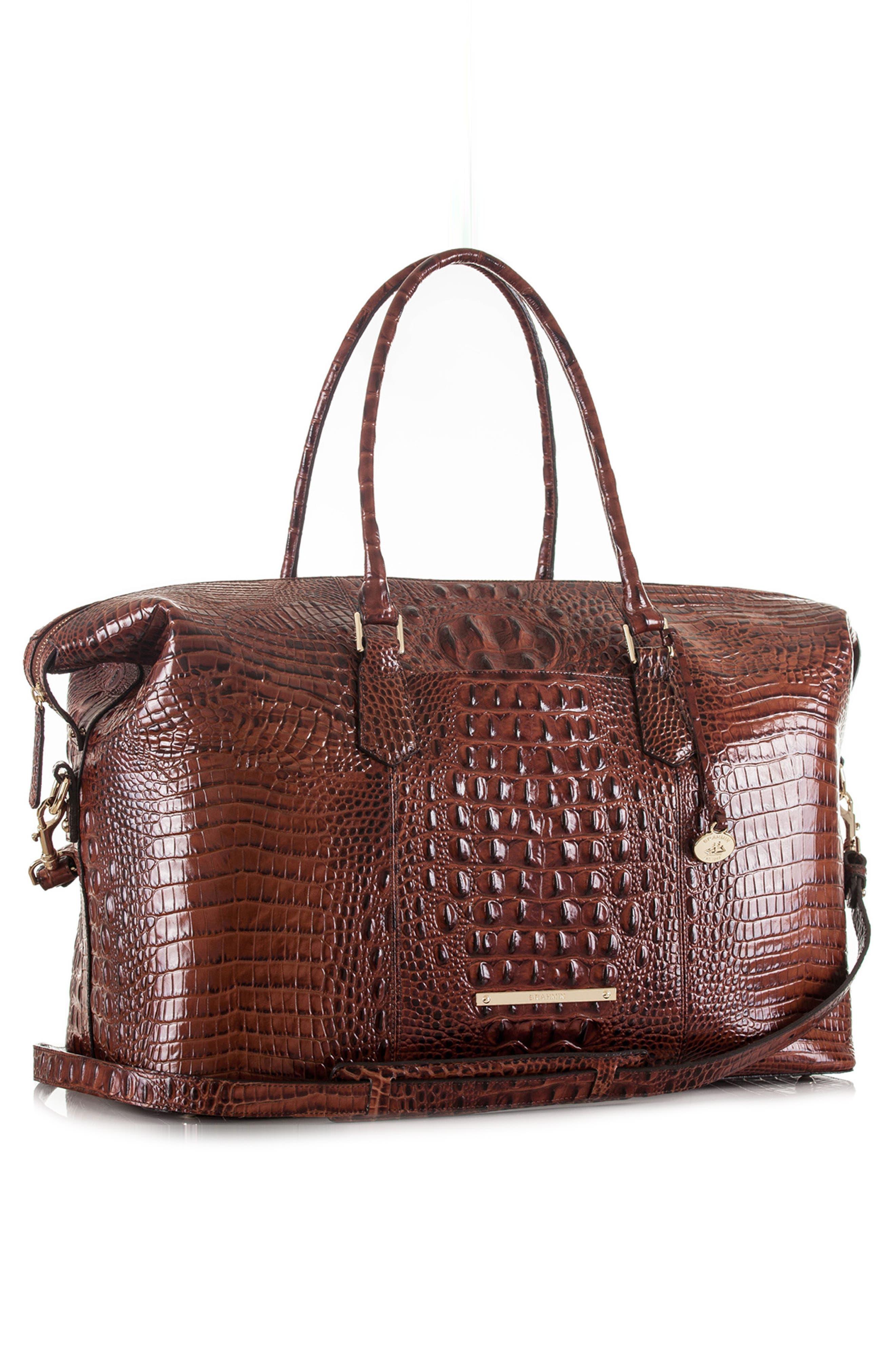 'Duxbury' Leather Travel Bag,                             Alternate thumbnail 13, color,