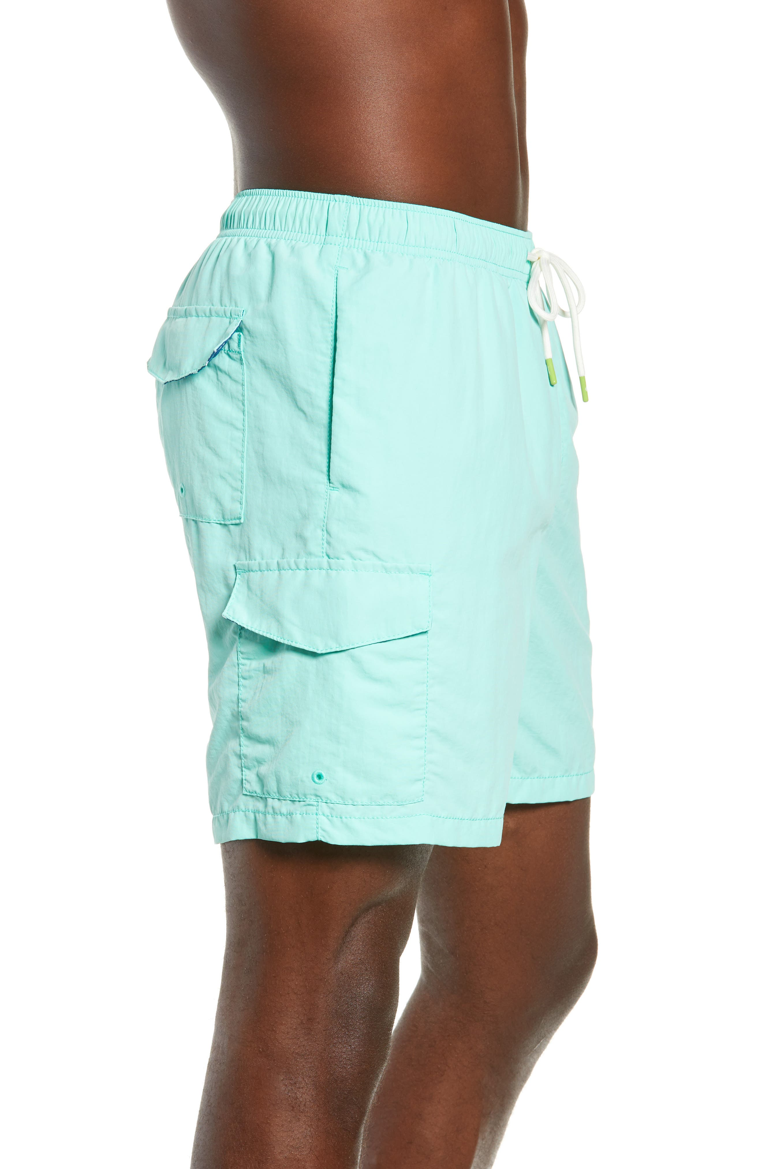 Naples Coast Swim Trunks,                             Alternate thumbnail 3, color,                             302