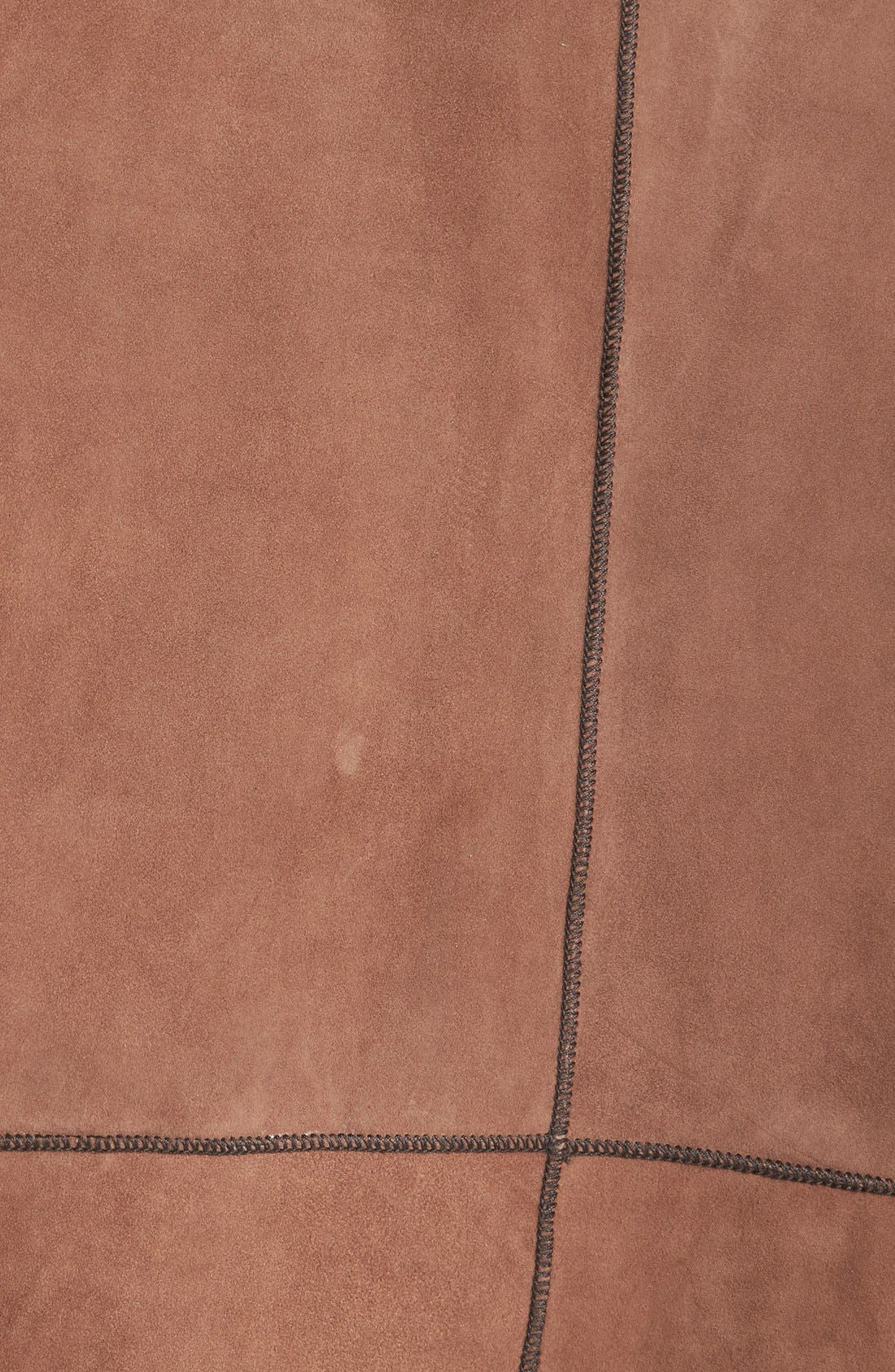 Reversible Suede Jacket,                             Alternate thumbnail 5, color,