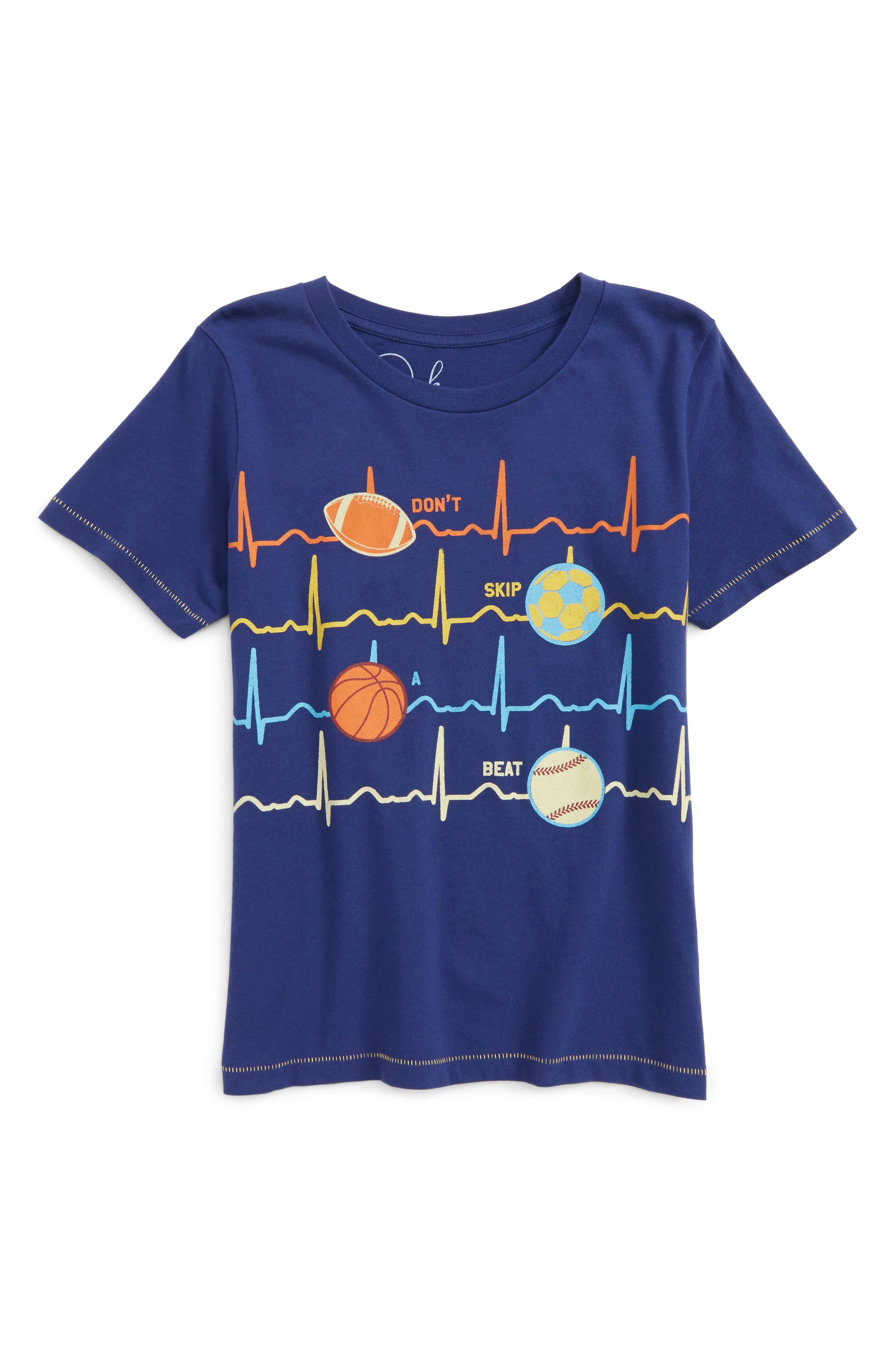 Heartbeat T-Shirt,                         Main,                         color, 410