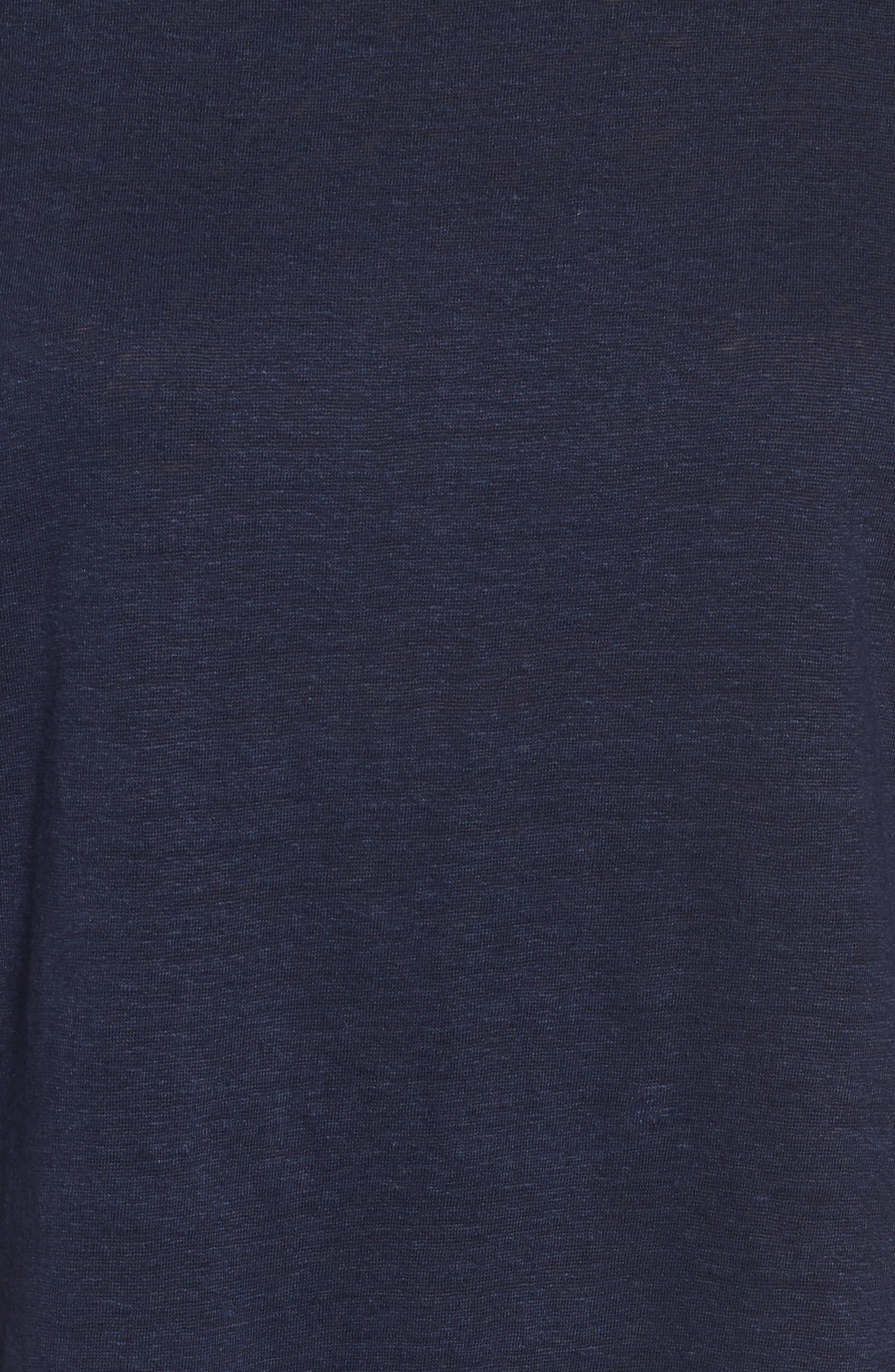 Slouchy Organic Linen Top,                             Alternate thumbnail 30, color,