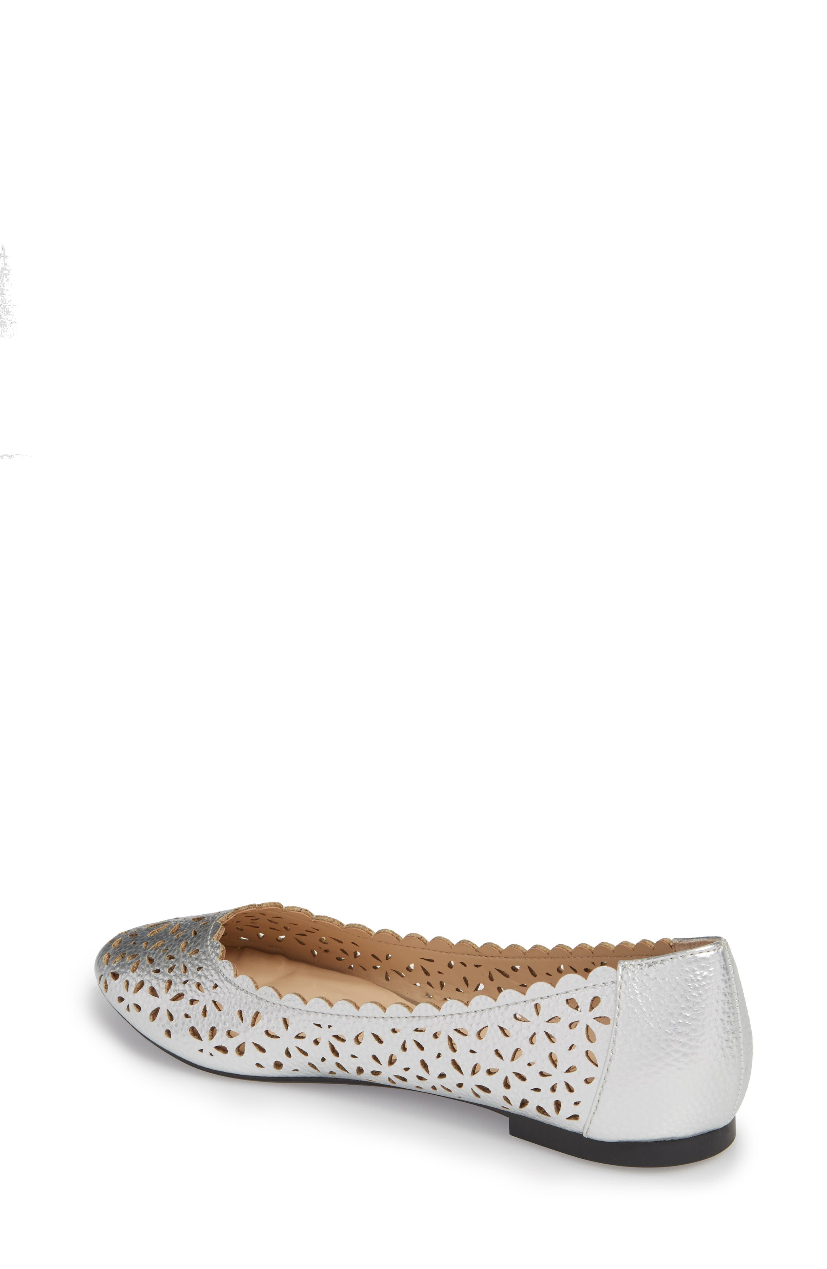 Annora Perforated Flat,                             Alternate thumbnail 5, color,