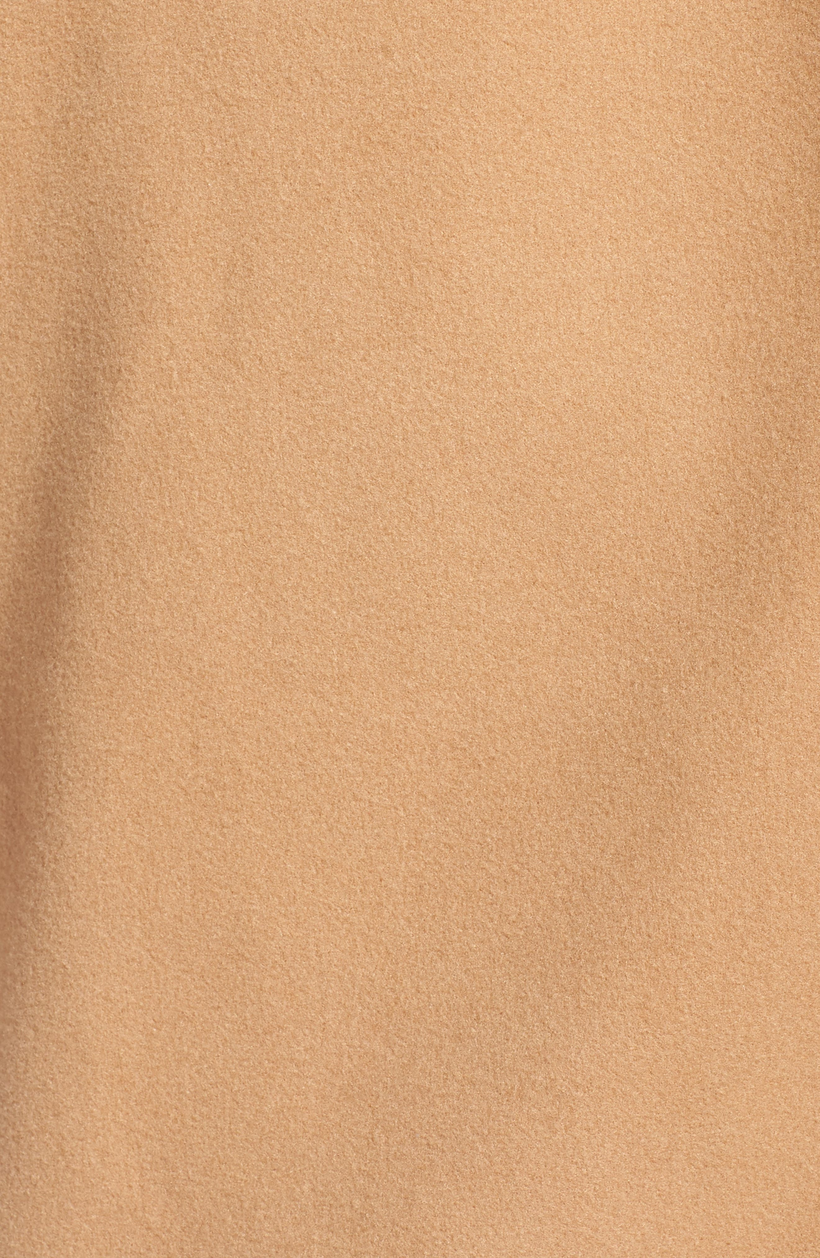 Oversize Double Breasted Coat,                             Alternate thumbnail 7, color,                             TAN