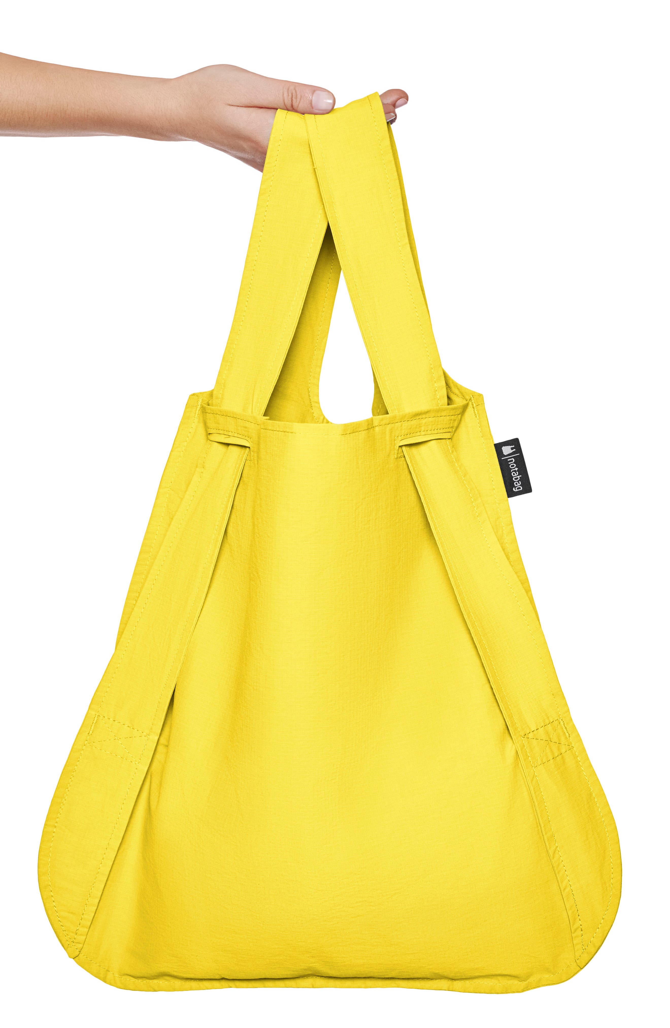 Convertible Tote Backpack,                             Alternate thumbnail 3, color,                             YELLOW