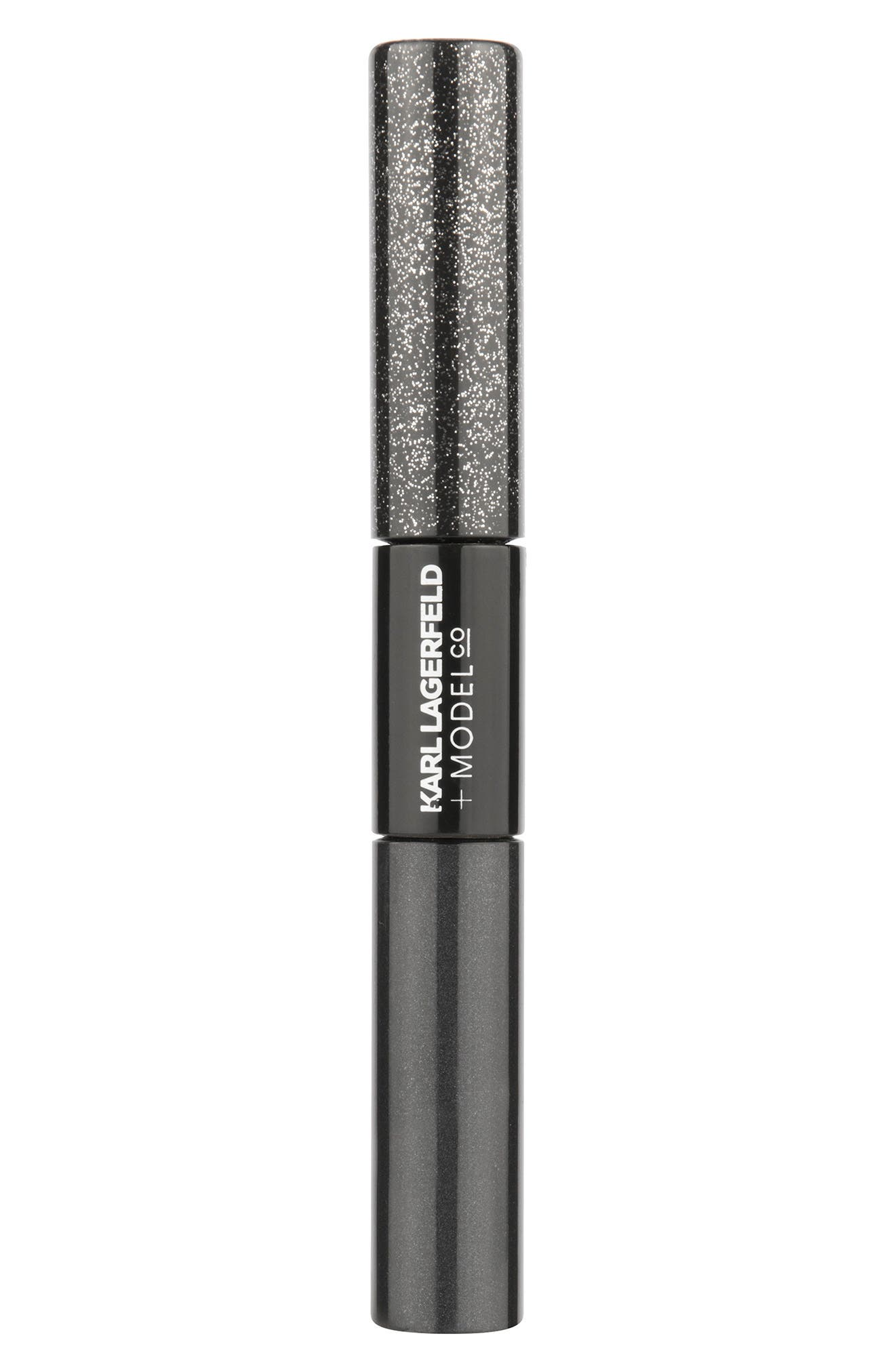 KARL LAGERFELD + MODELCO Kiss Me Karl Glitter Eyeliner Duo,                             Alternate thumbnail 2, color,                             001