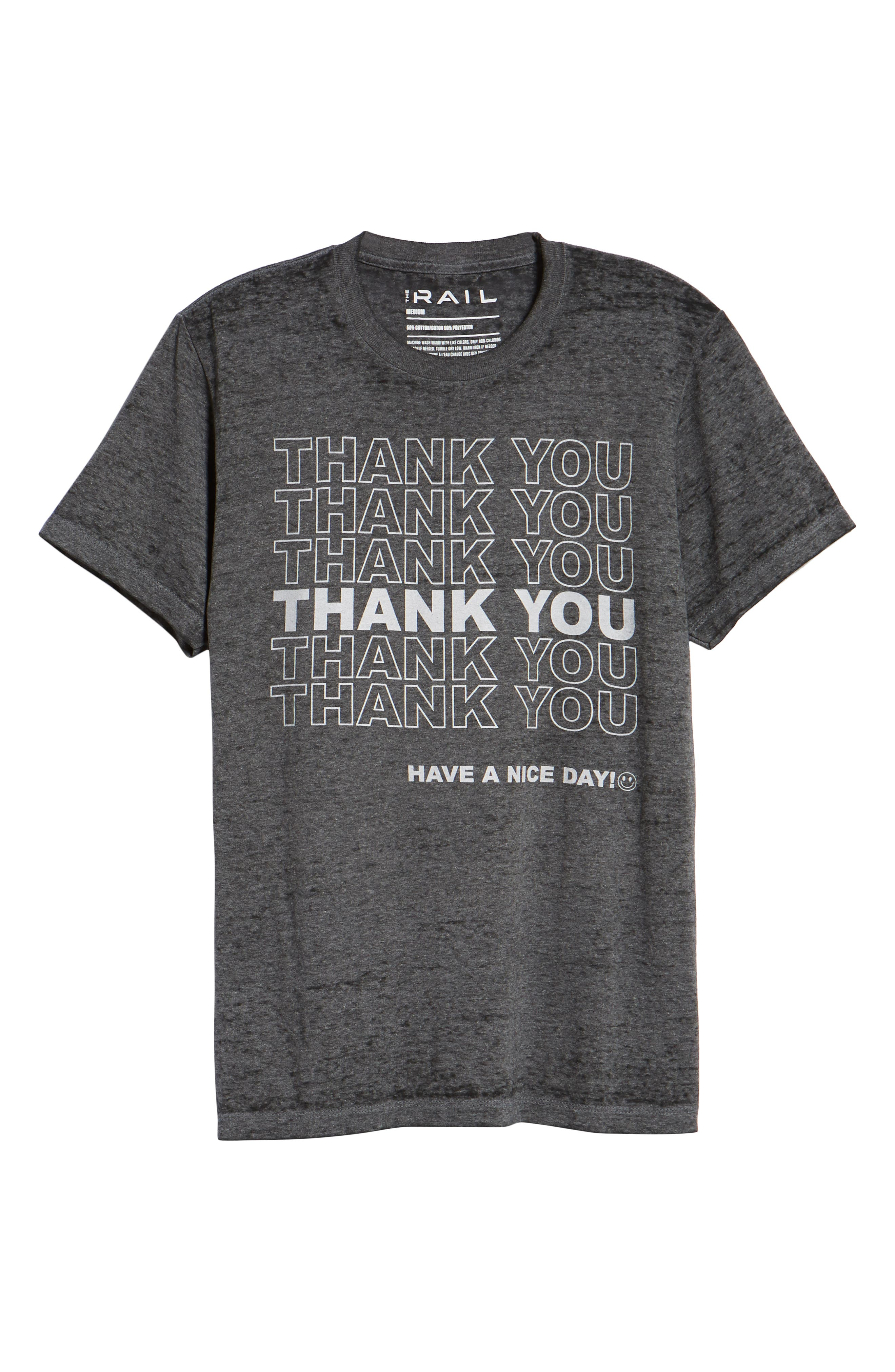 Thank You Graphic T-Shirt,                             Alternate thumbnail 6, color,                             030