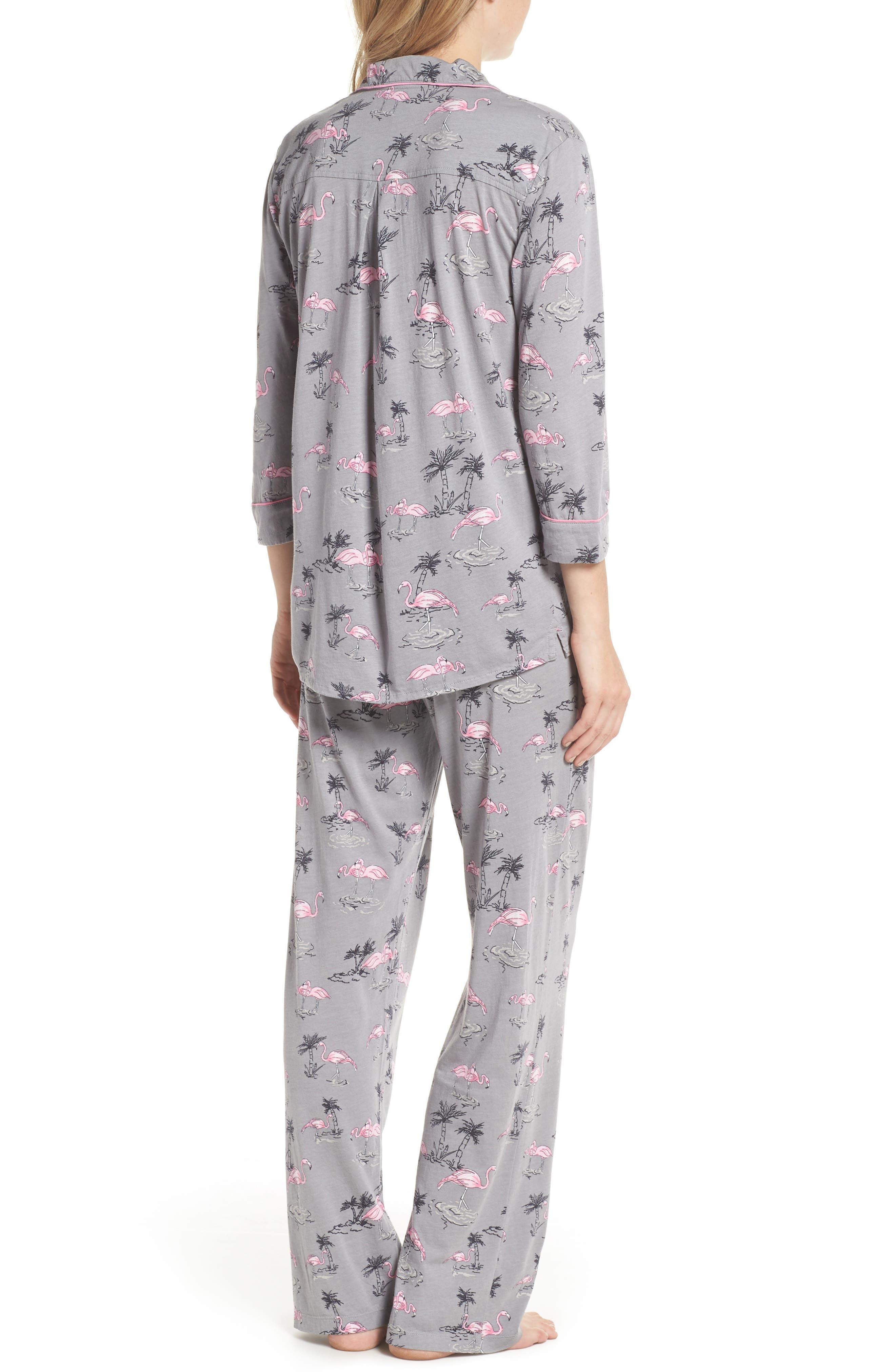Print Pajamas & Eye Mask,                             Alternate thumbnail 2, color,                             024