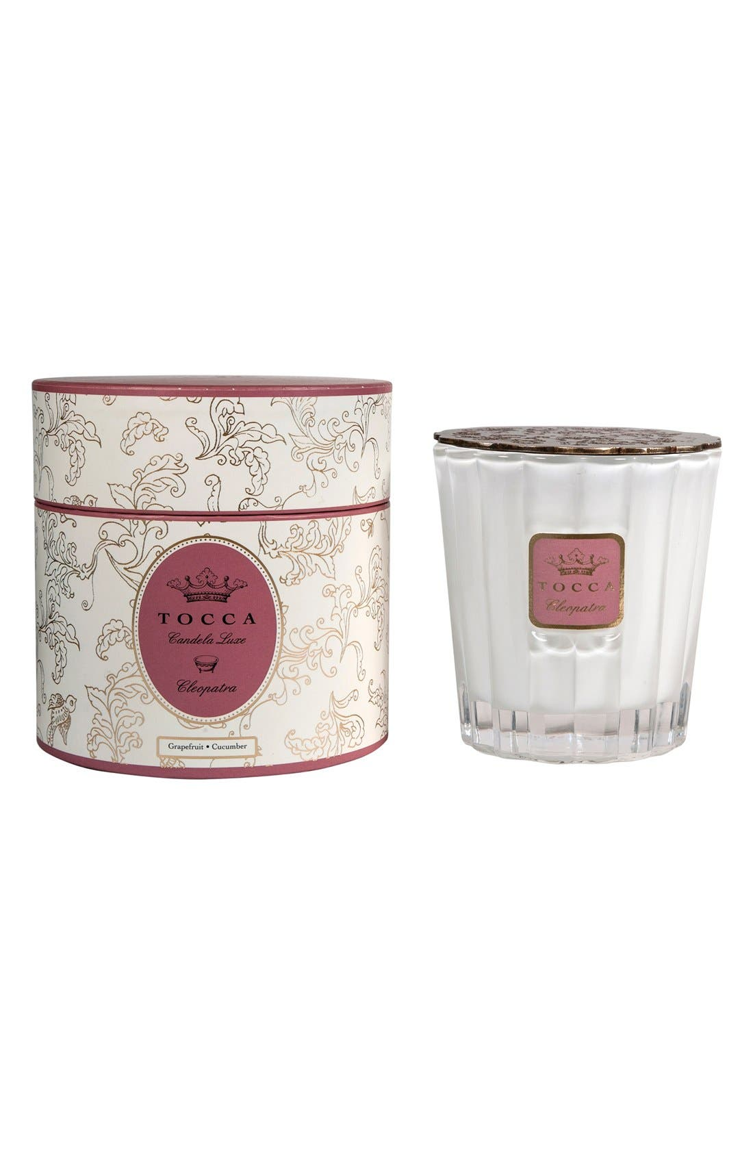 Candela Luxe Candle,                             Alternate thumbnail 3, color,                             000