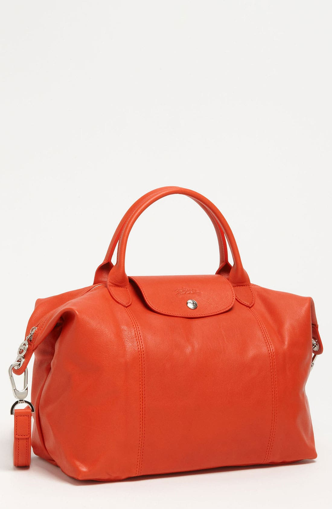 Medium 'Le Pliage Cuir' Leather Top Handle Tote,                             Main thumbnail 26, color,