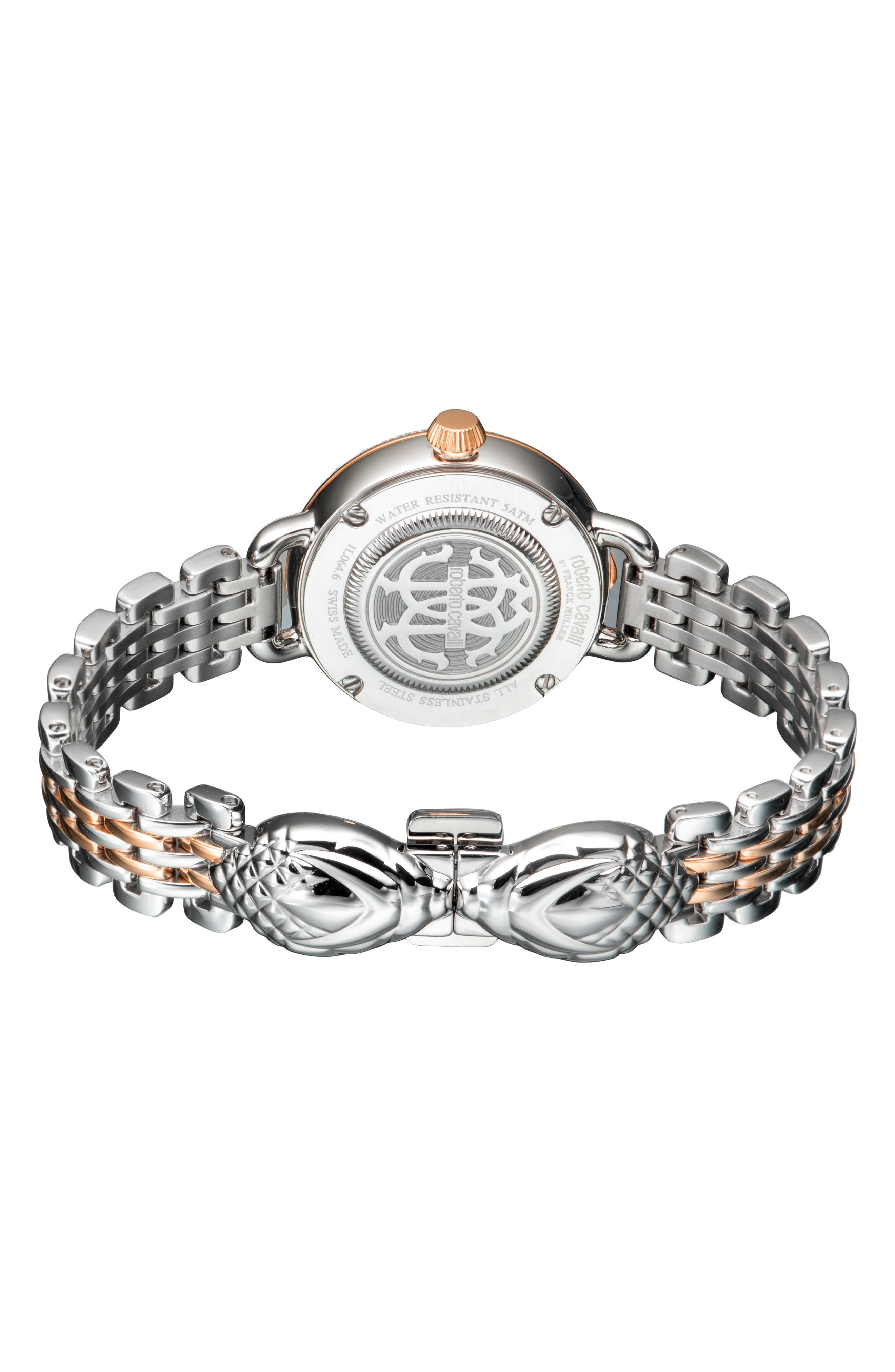 Floreale Bracelet Watch, 30mm,                             Alternate thumbnail 2, color,                             ROSE GOLD/ SILVER