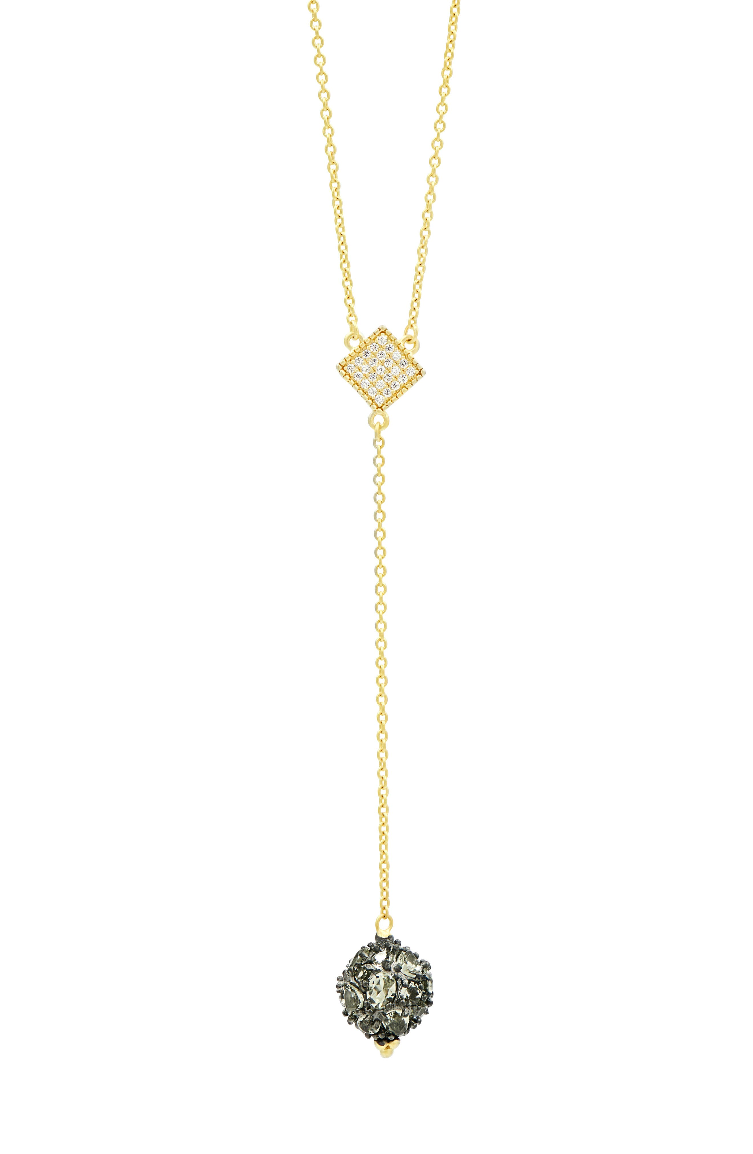 Rose Dor Y-Shape Necklace,                         Main,                         color, 710