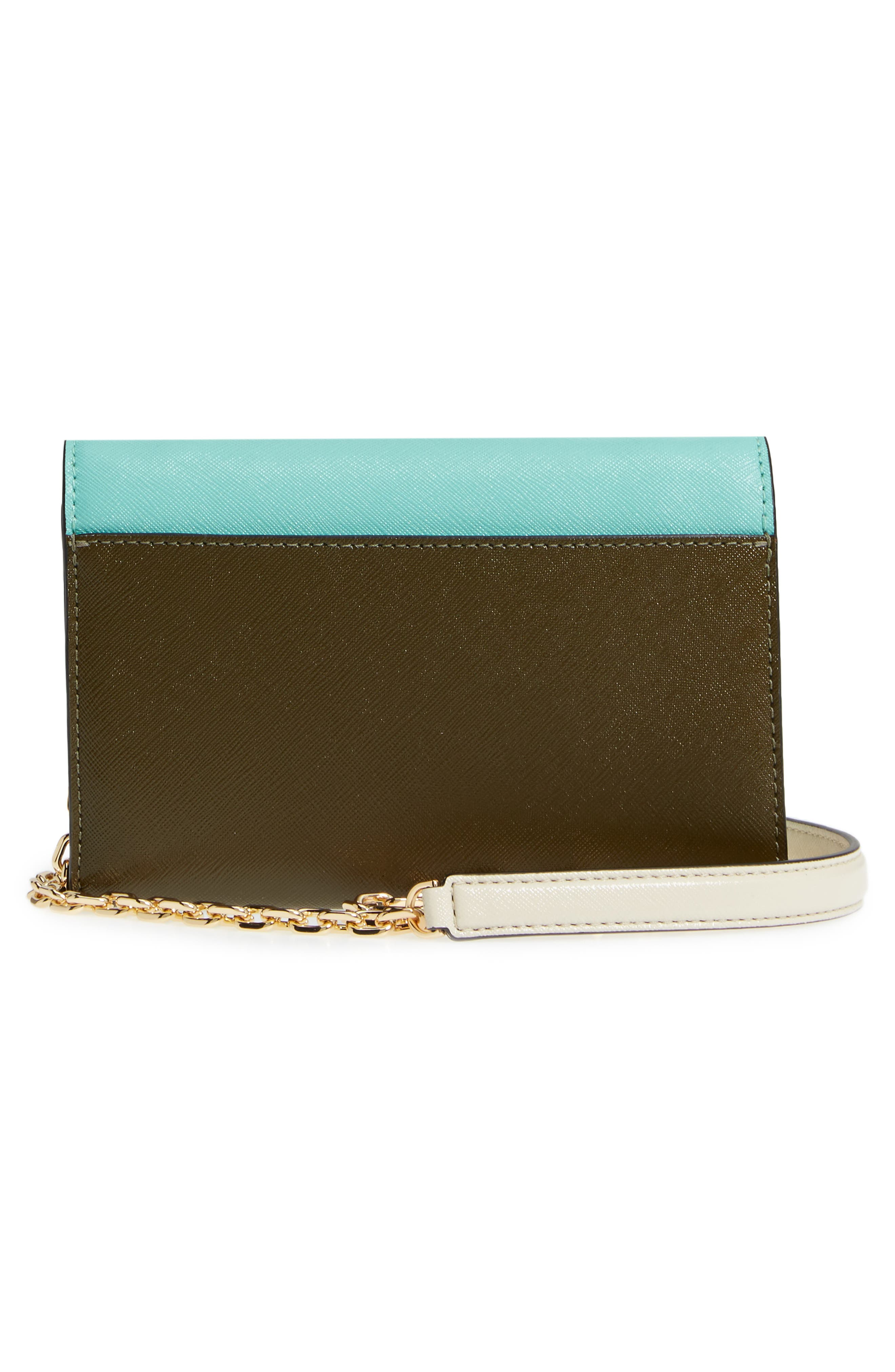Snapshot Leather Wallet on a Chain,                             Alternate thumbnail 29, color,