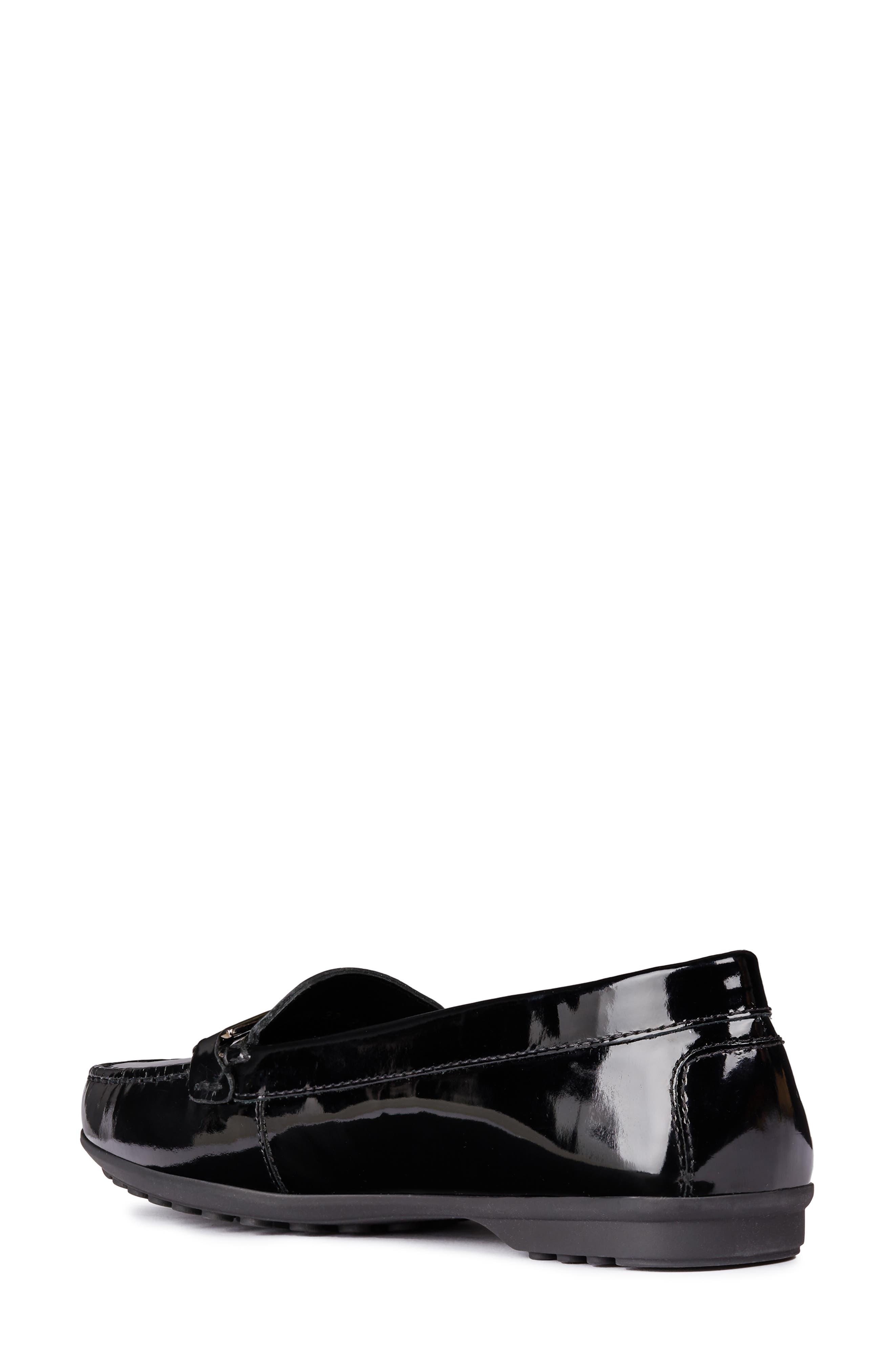Alidia Loafer,                             Alternate thumbnail 2, color,                             BLACK LEATHER