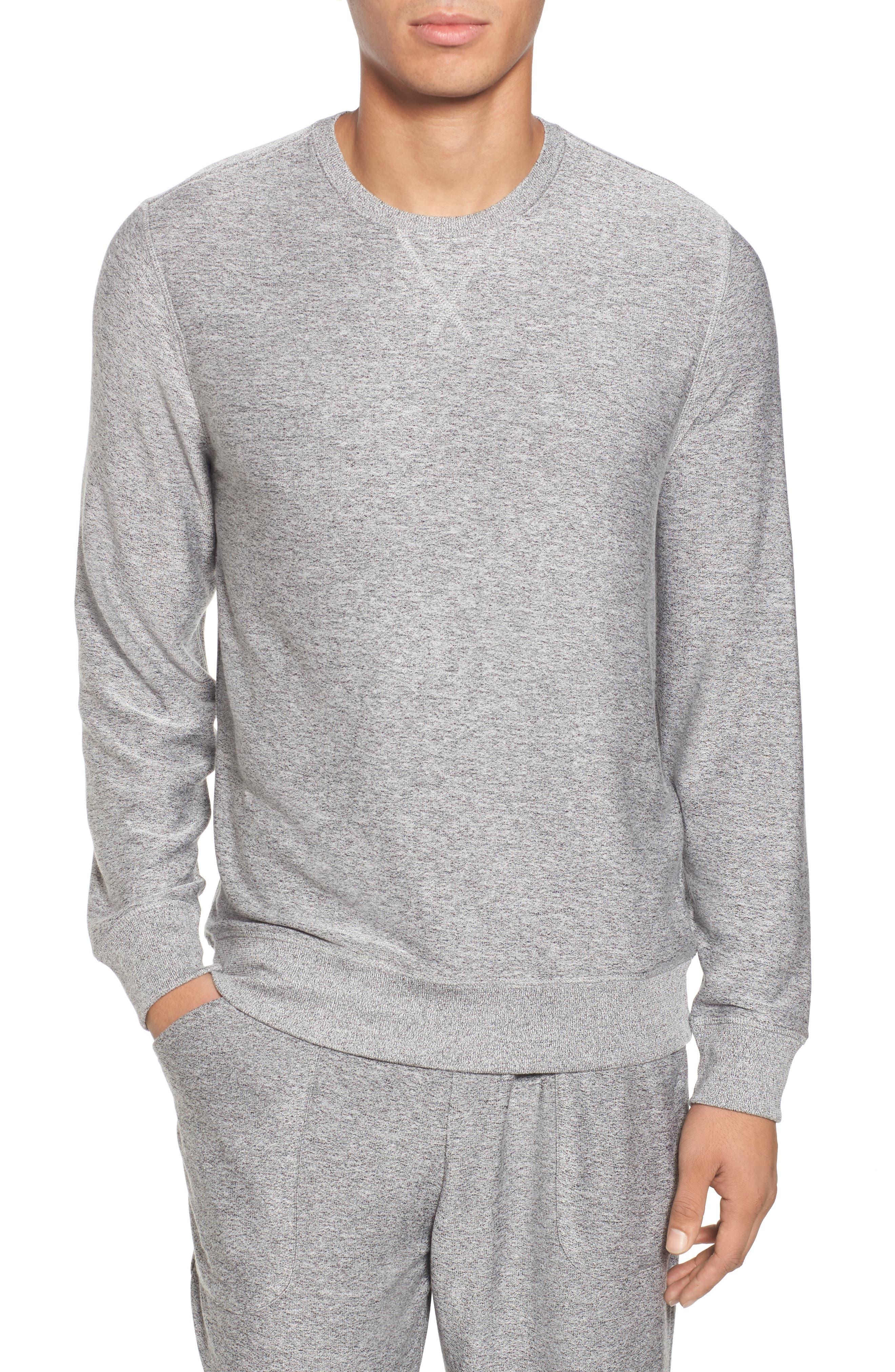 Nordstrom Shop Ultra Soft Crewneck Sweatshirt, Grey