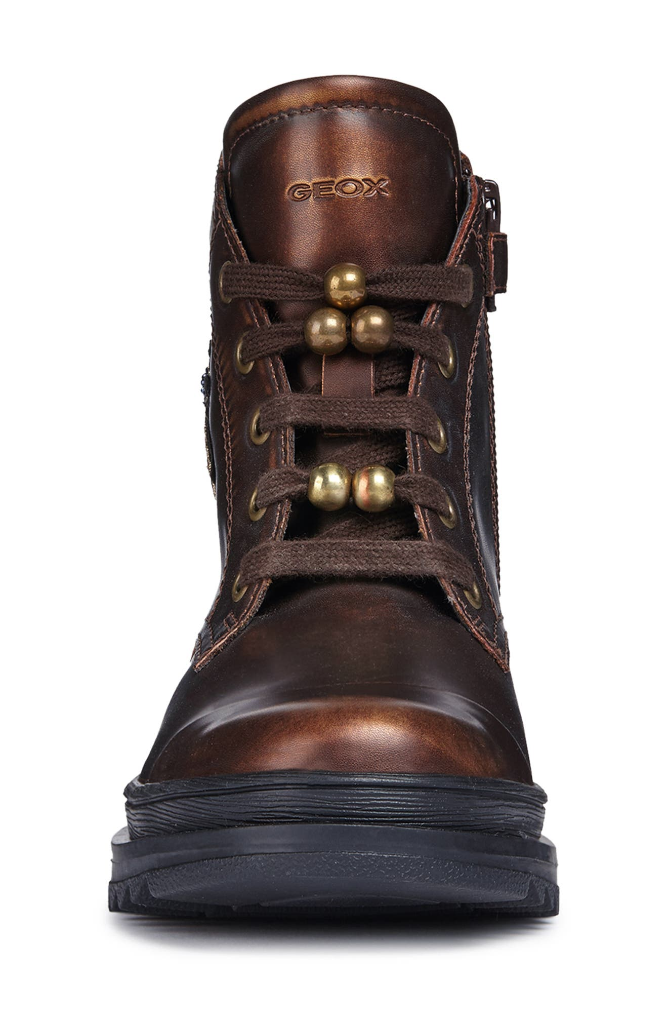 Gilly Jaw 2 Lace-Up Boot,                             Alternate thumbnail 4, color,                             BRONZE