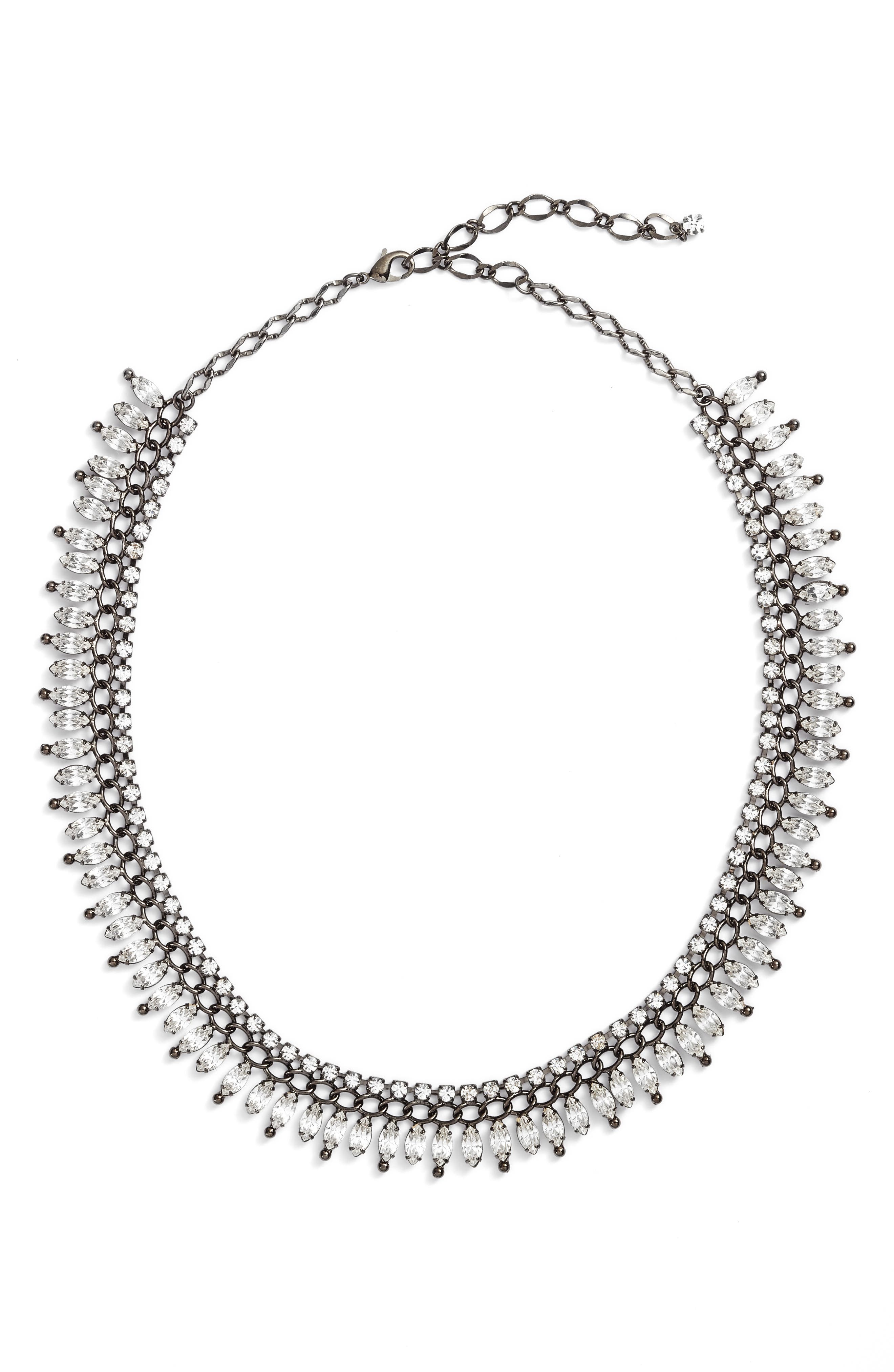 Multi Navette Necklace,                         Main,                         color,
