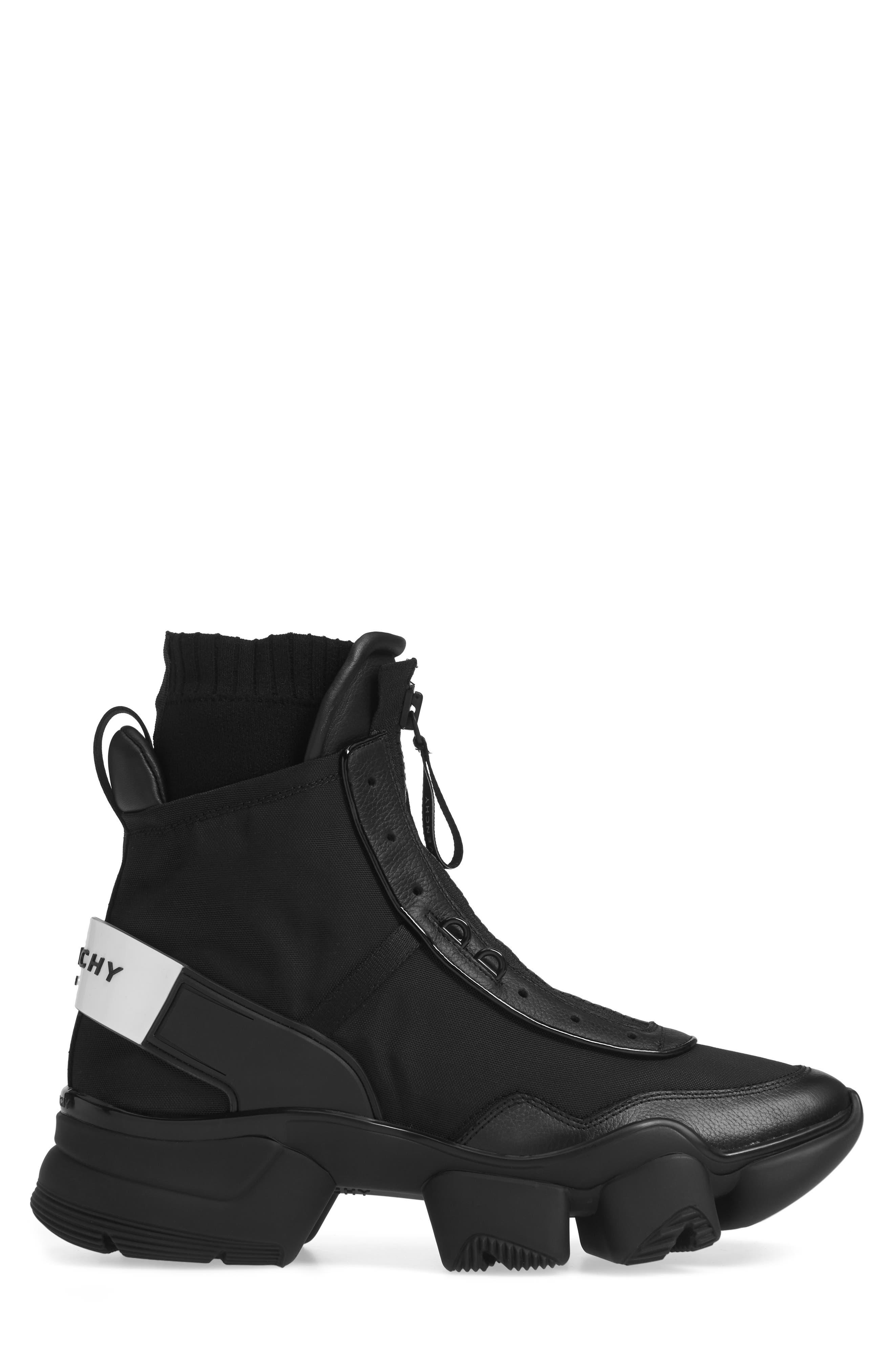 Jaw Sneaker,                             Alternate thumbnail 3, color,                             BLACK