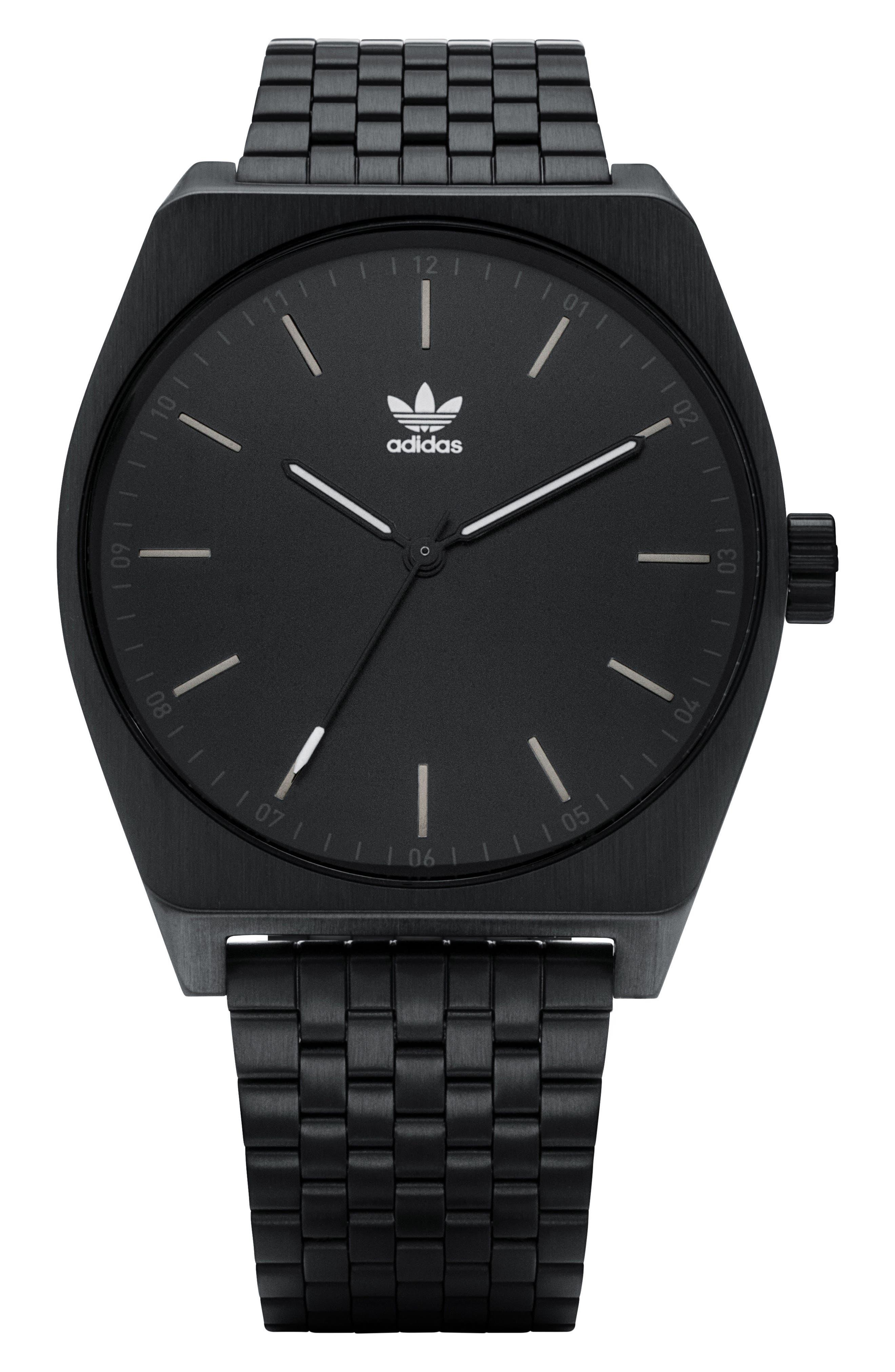 Process Bracelet Watch, 38mm,                             Main thumbnail 1, color,                             BLACK