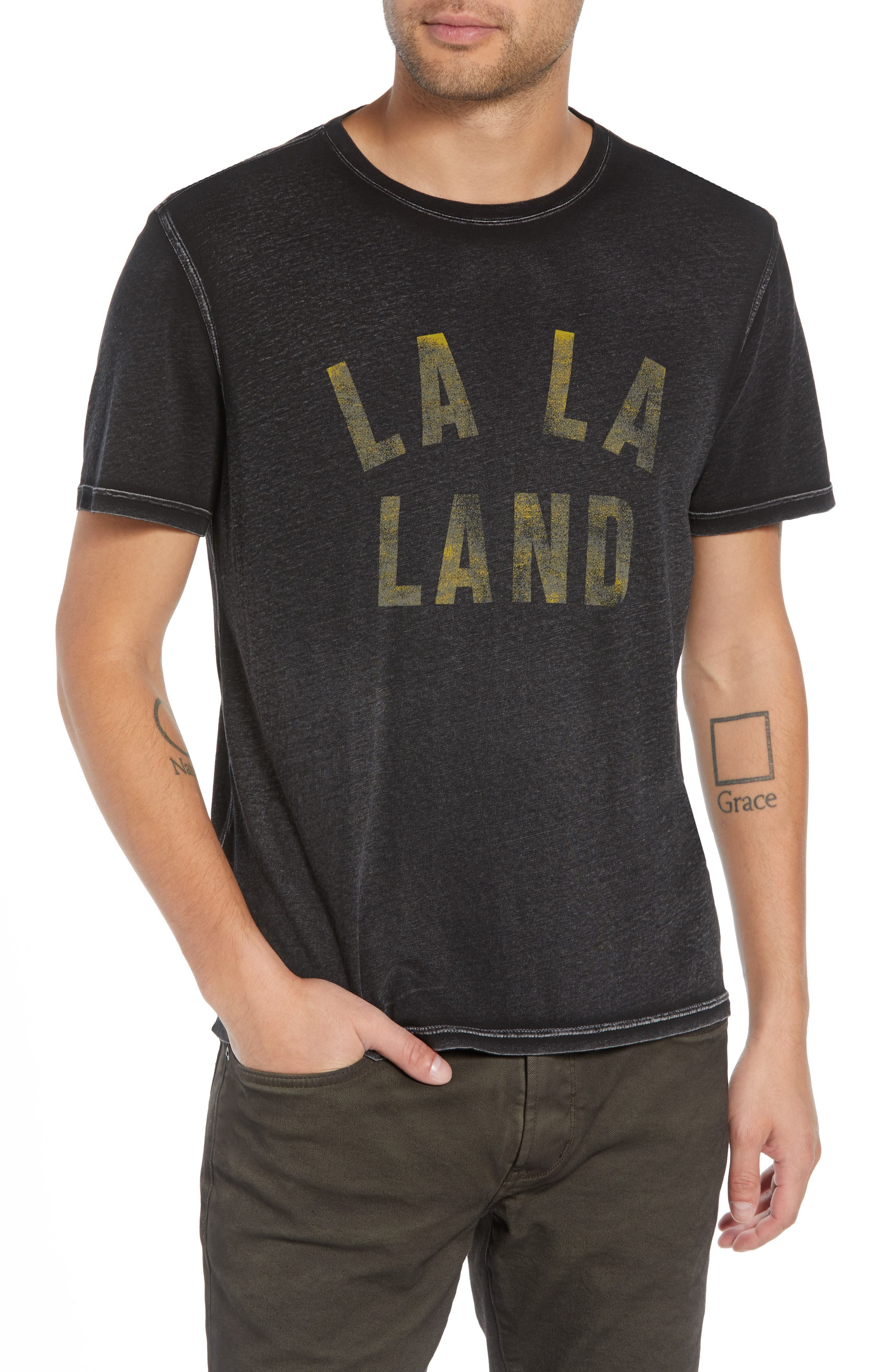 La La Land T-Shirt,                             Main thumbnail 1, color,                             020