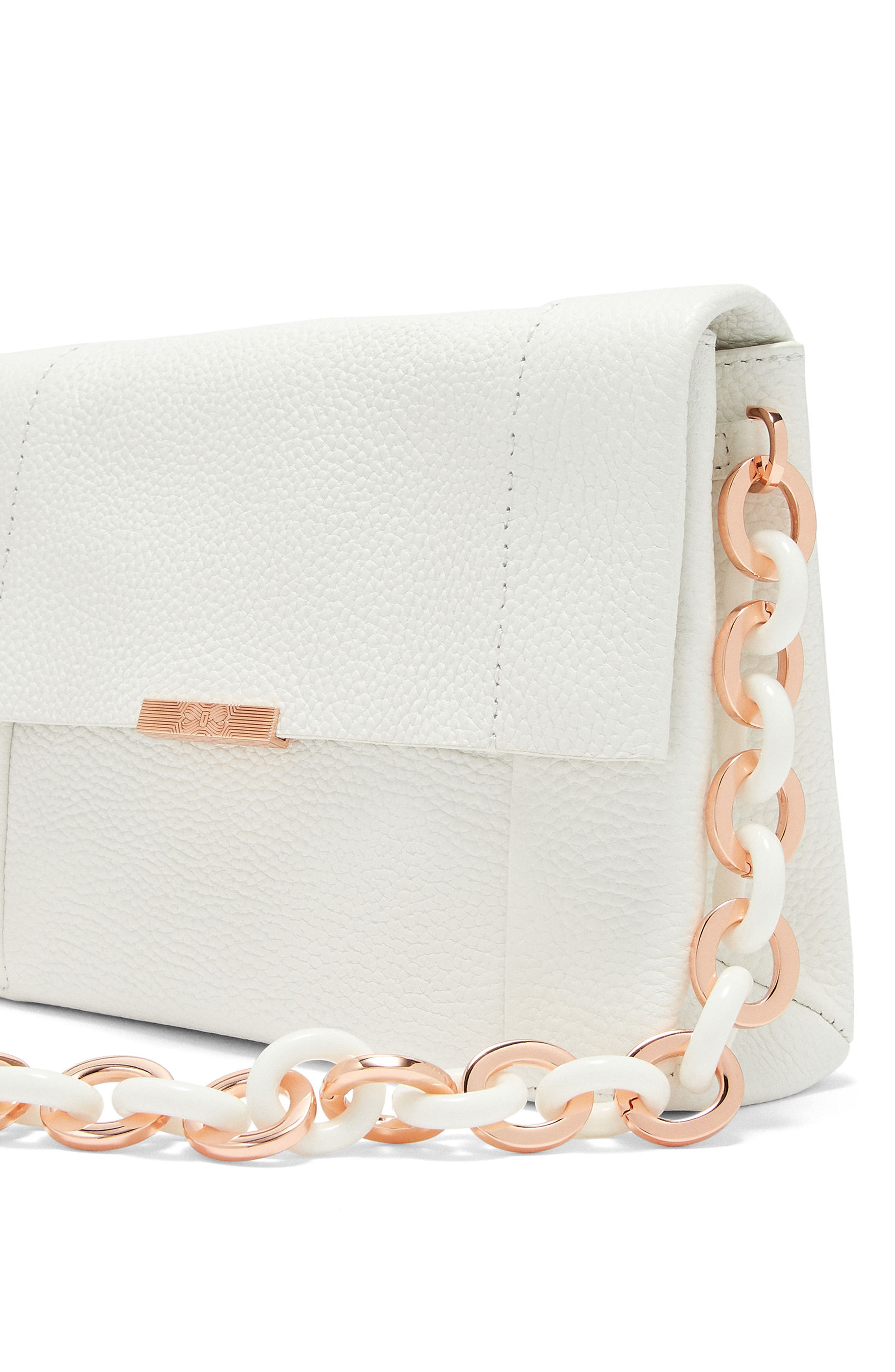 Ipomoea Leather Shoulder Bag,                             Alternate thumbnail 11, color,