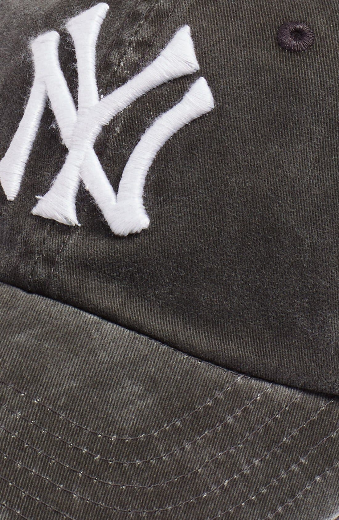 New Raglan New York Yankees Baseball Cap,                             Alternate thumbnail 3, color,                             001