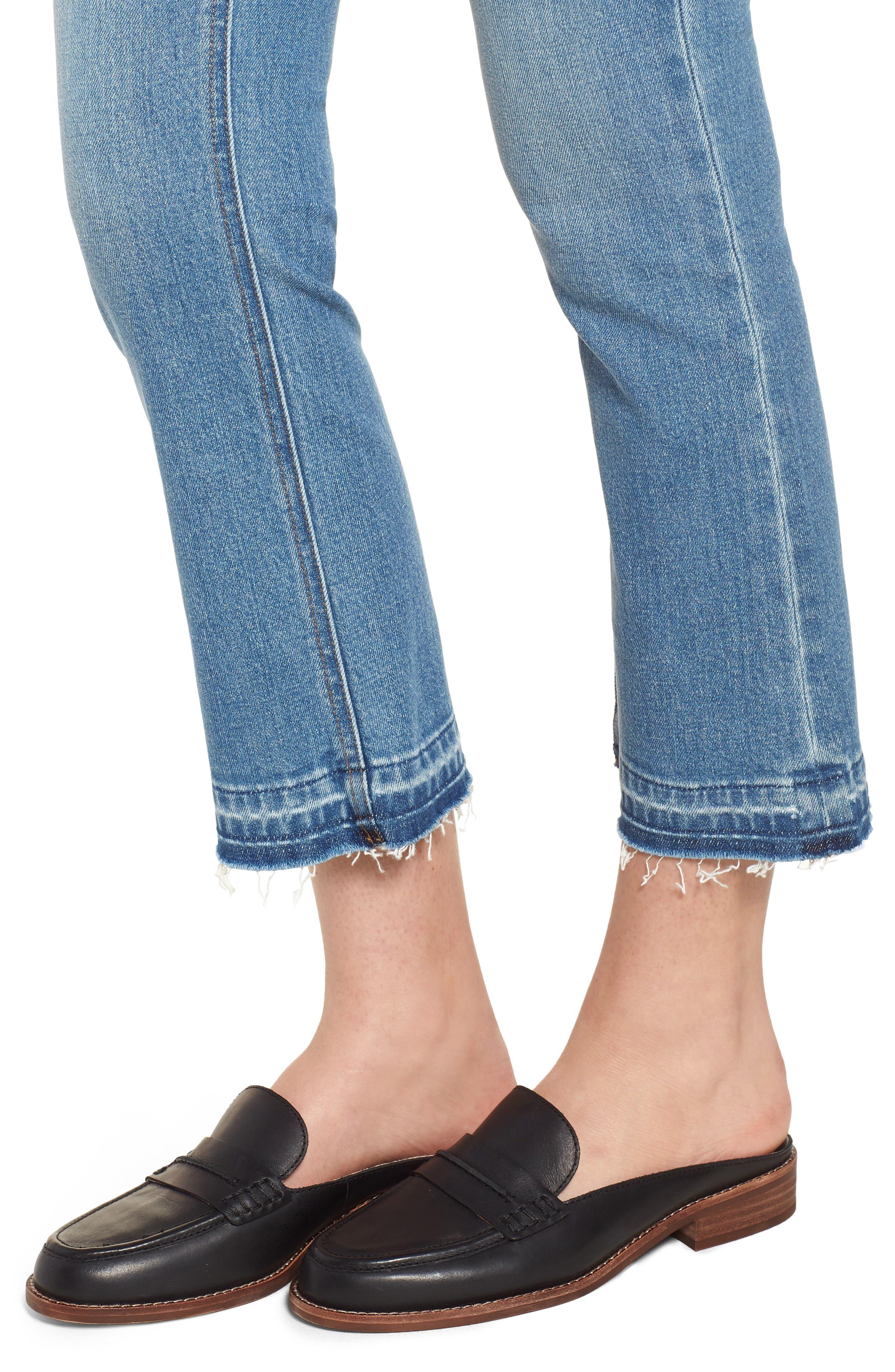 Billie Demi Boot Crop Jeans,                             Alternate thumbnail 4, color,                             400