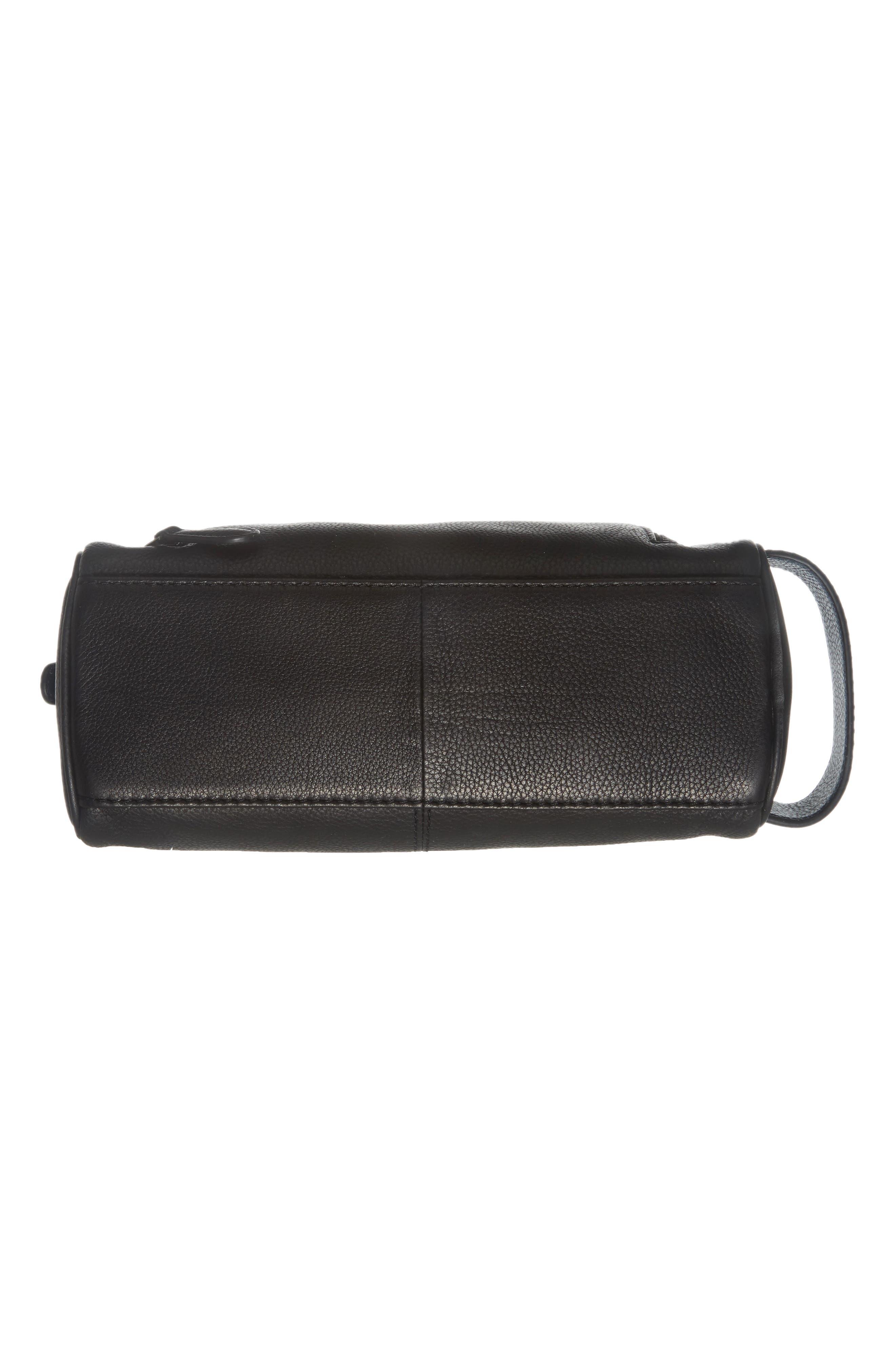 Dodger Leather Dopp Kit,                             Alternate thumbnail 5, color,                             001