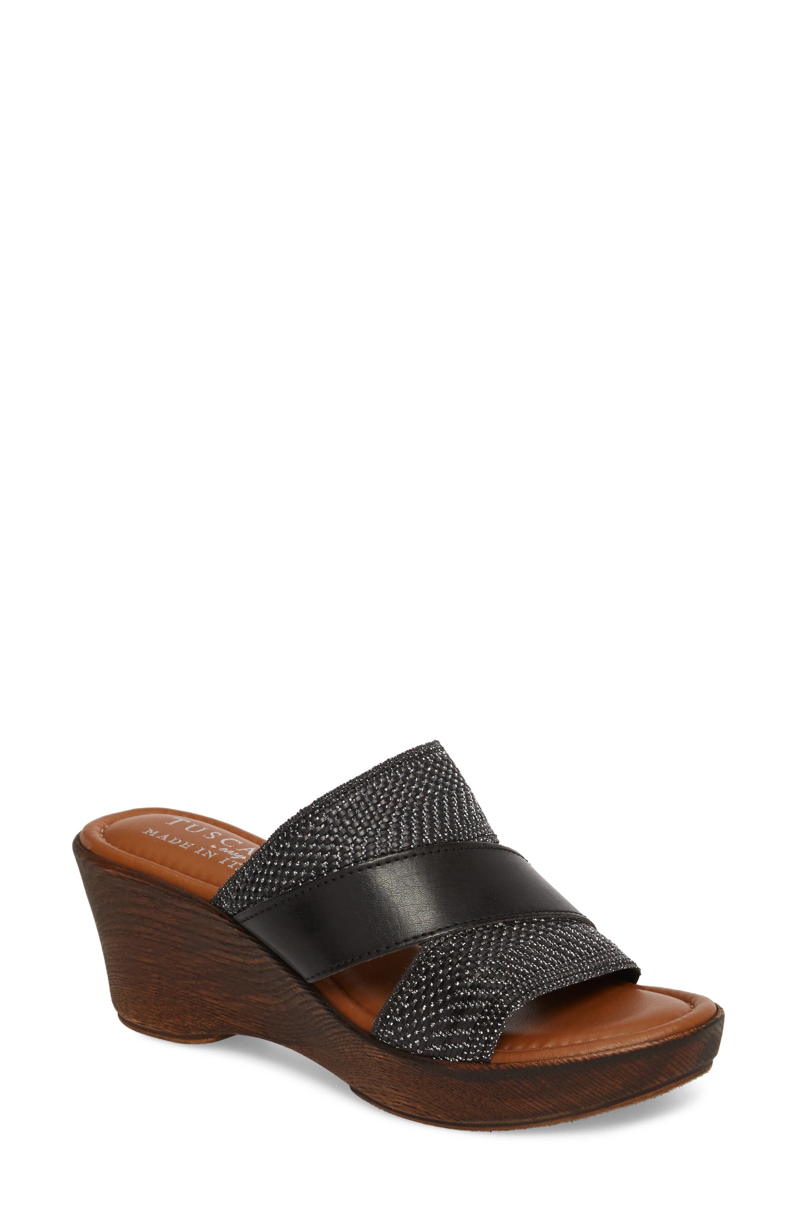 by Easy Street<sup>®</sup> Positano Sandal,                         Main,                         color, 001