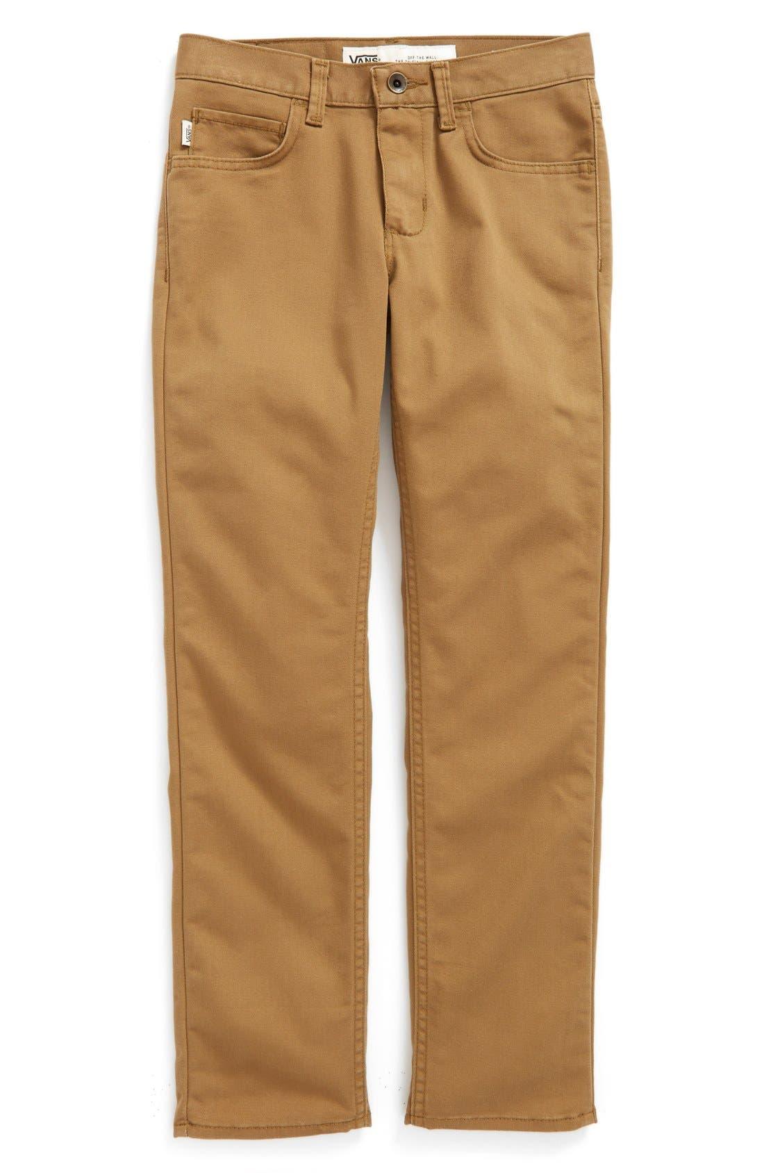 'V56 Standard AV Covina' Pants,                             Main thumbnail 1, color,                             DIRT