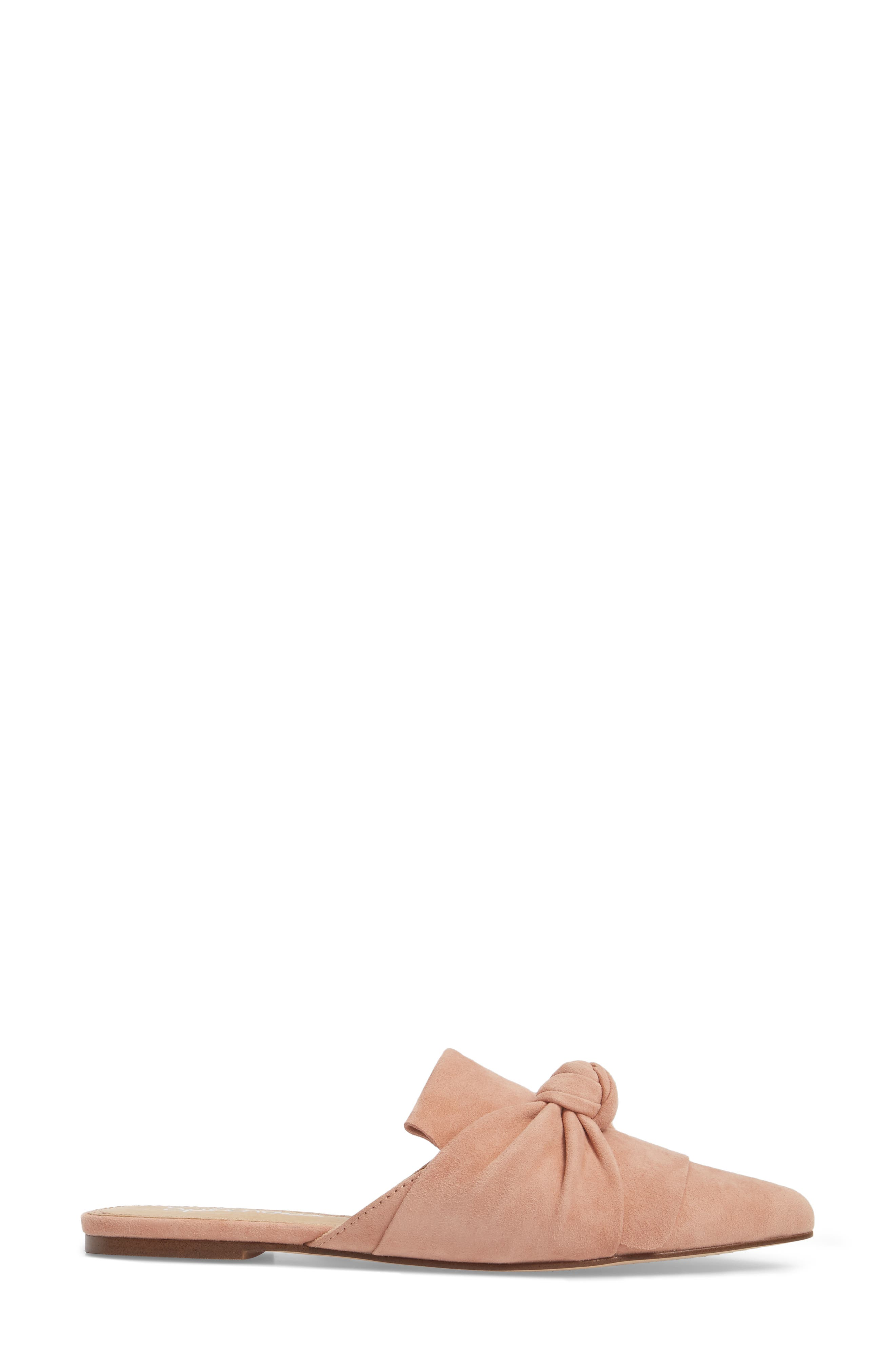 Bassett Knotted Pointy Toe Mule,                             Alternate thumbnail 9, color,