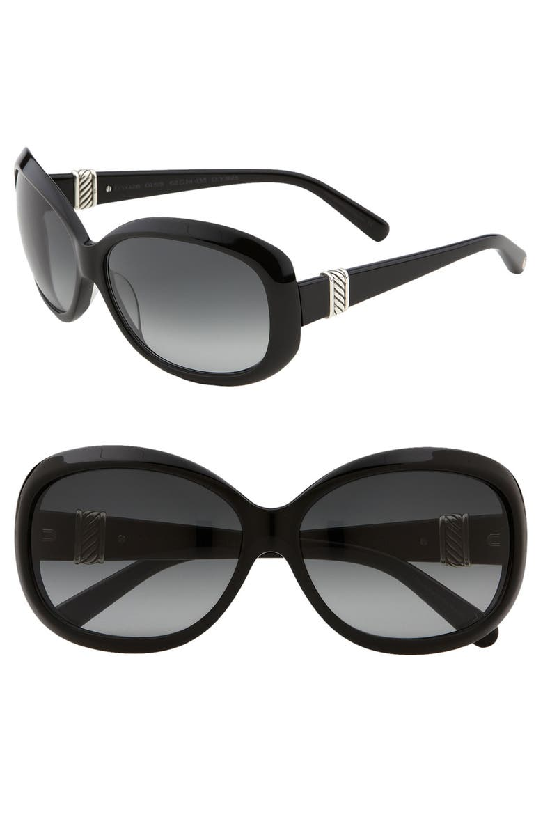 41bacee6204 David Yurman  Cable Classic  Square Sunglasses