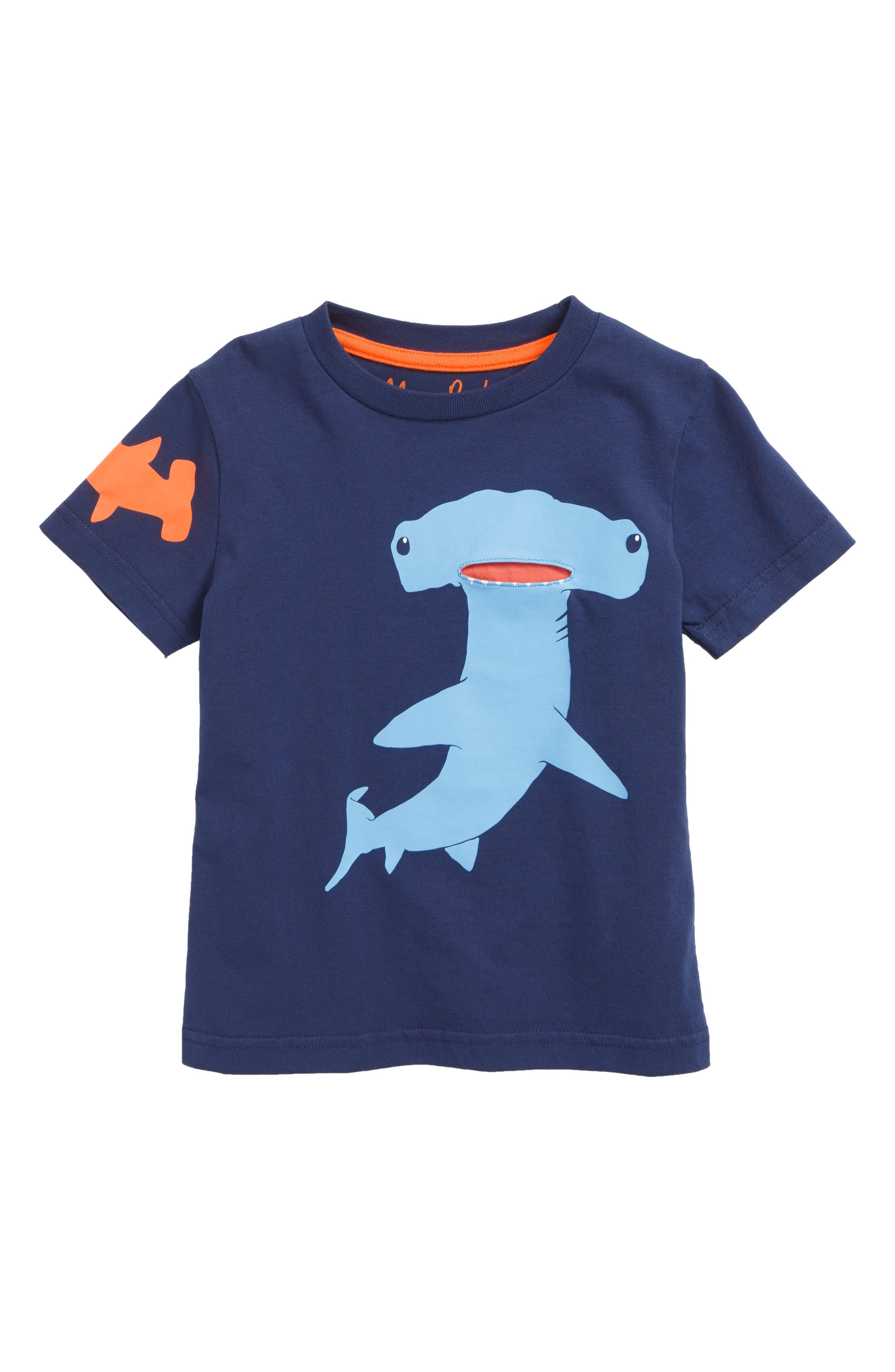 Sea Animal Pocket T-Shirt,                         Main,                         color, 414