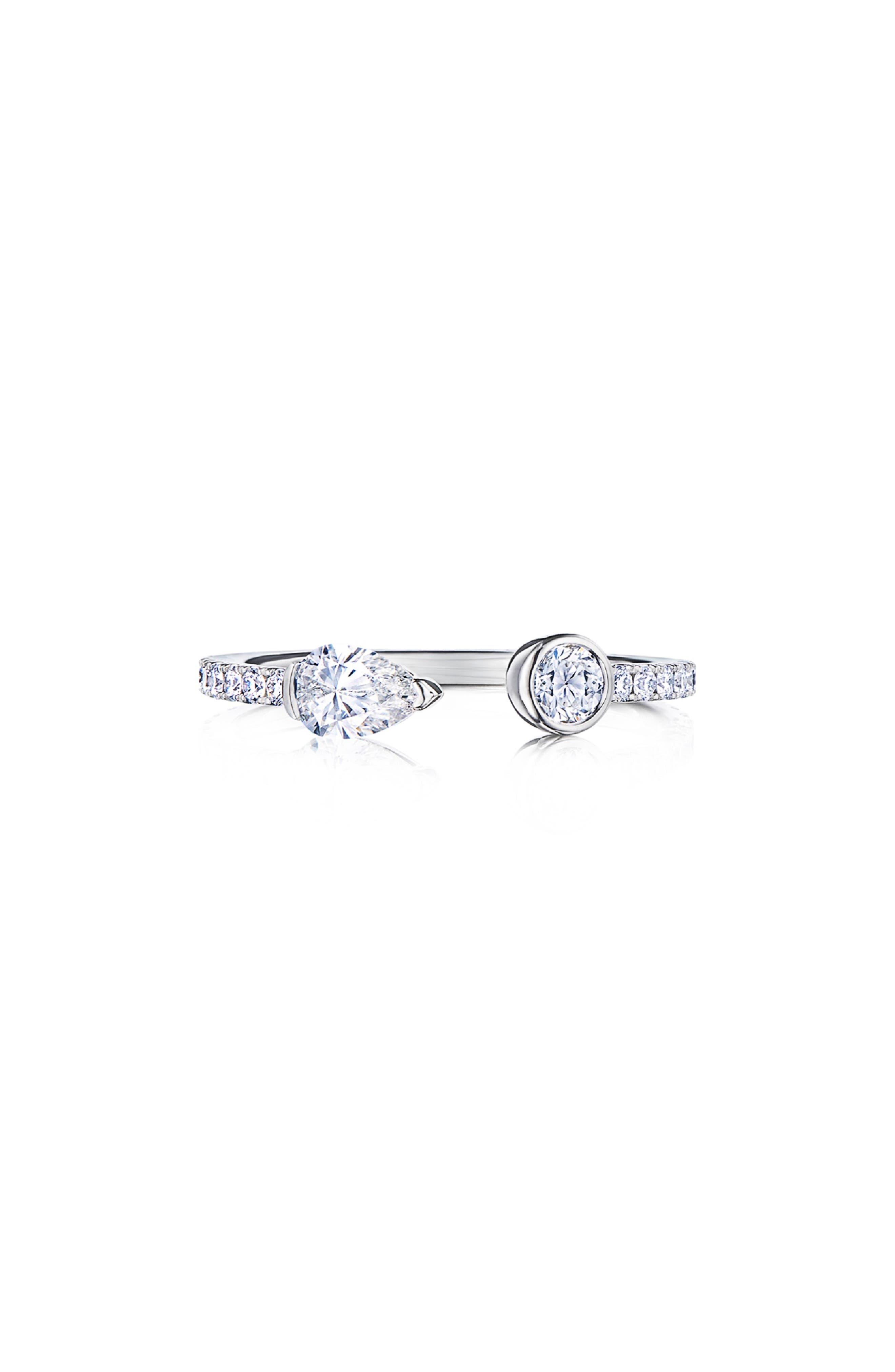 KWIAT Eclipse Diamond Open Ring in White Gold