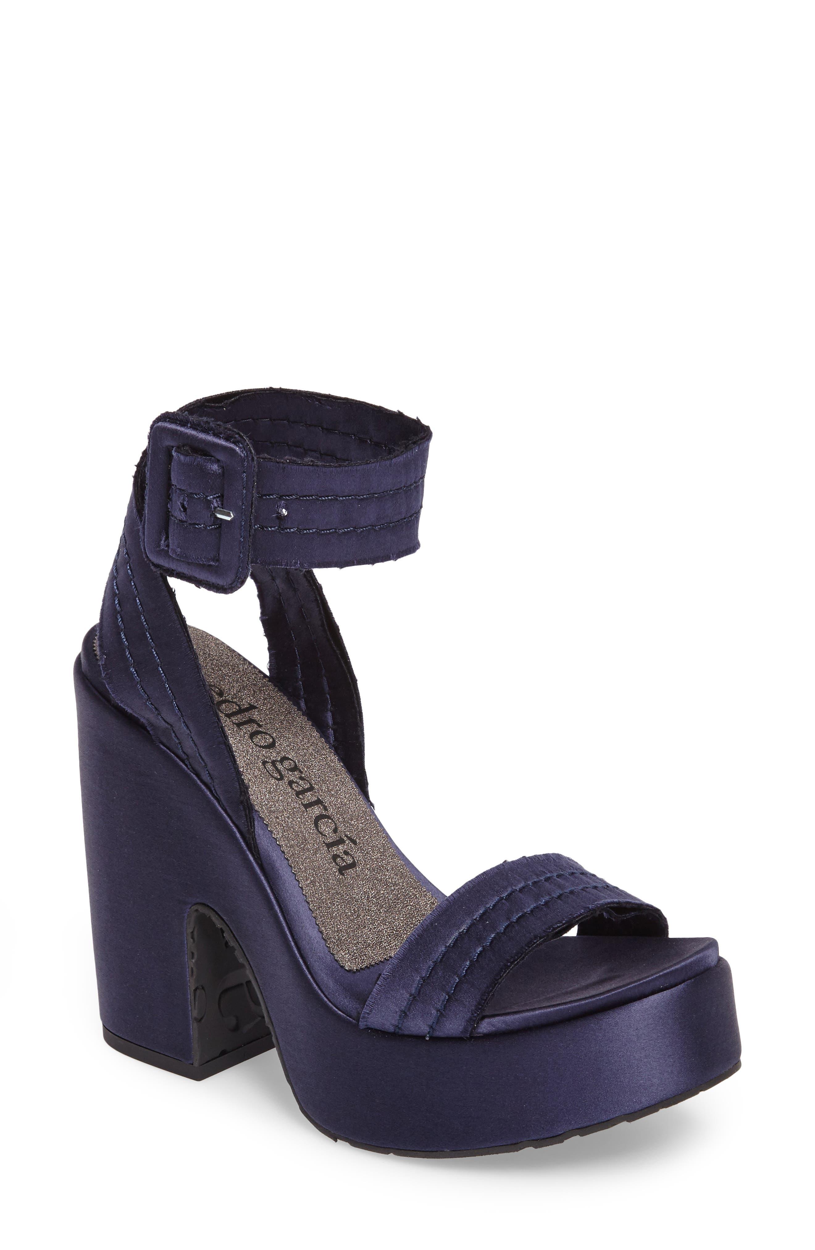 Thora Platform Sandal,                             Main thumbnail 1, color,                             400