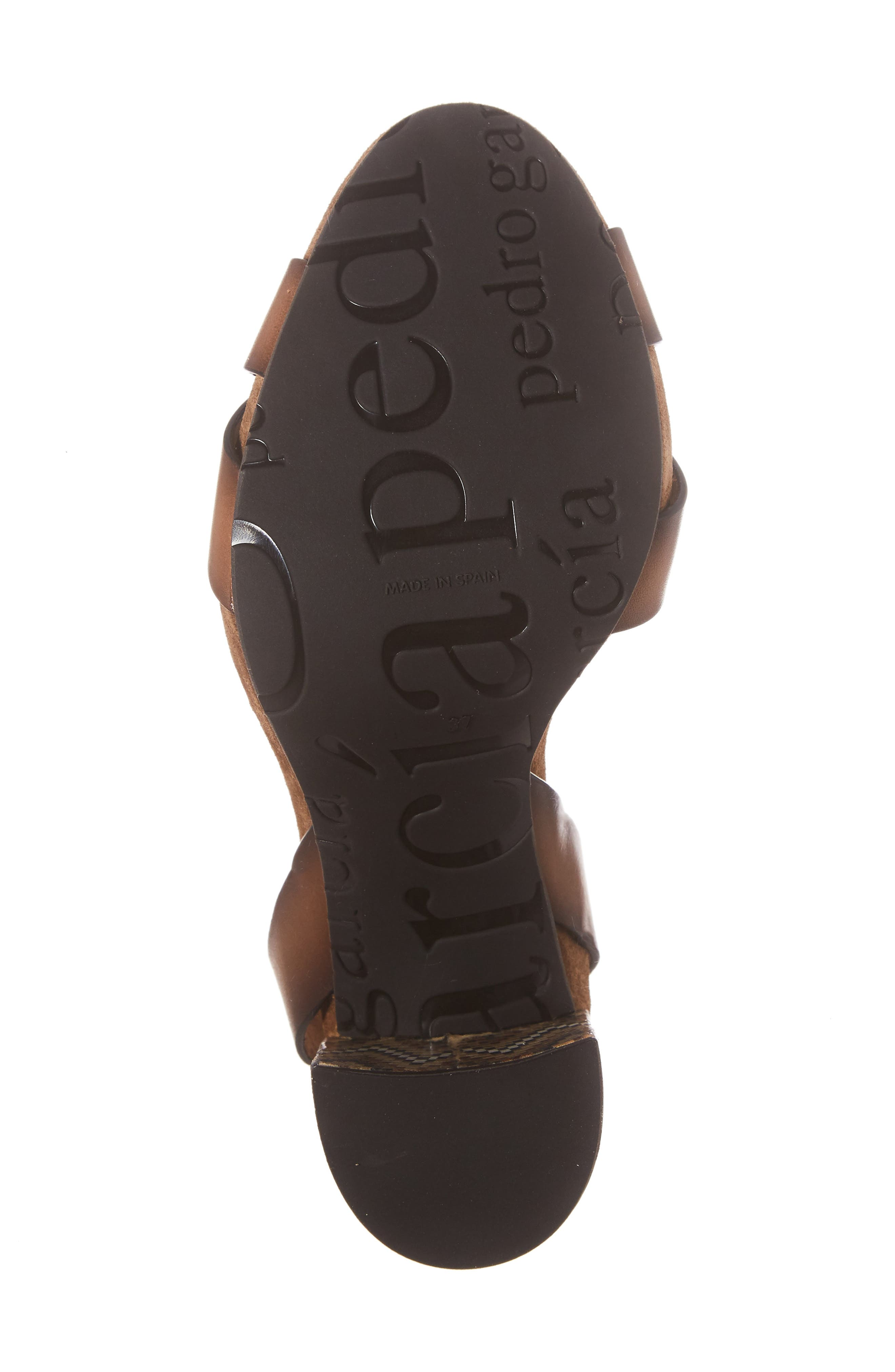 Yemba Embellished Heel Sandal,                             Alternate thumbnail 6, color,
