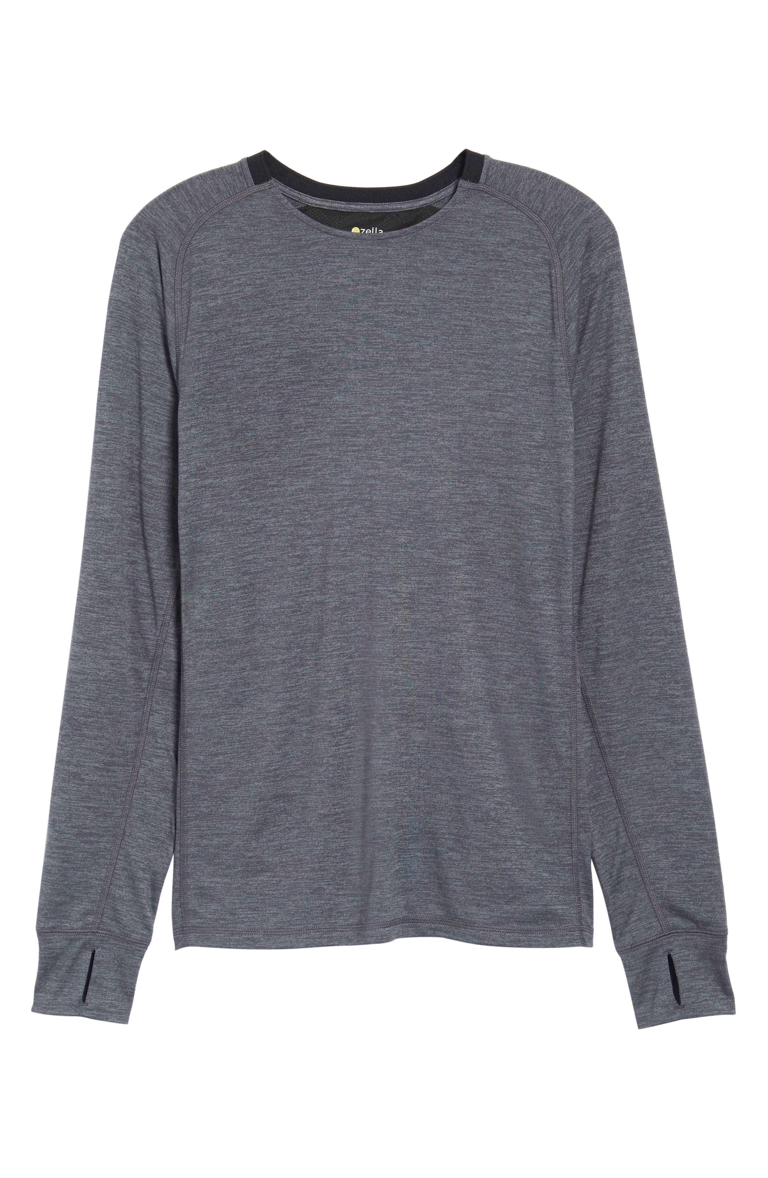 Larosite Athletic Fit T-Shirt,                             Alternate thumbnail 6, color,                             GREY EBONY MELANGE