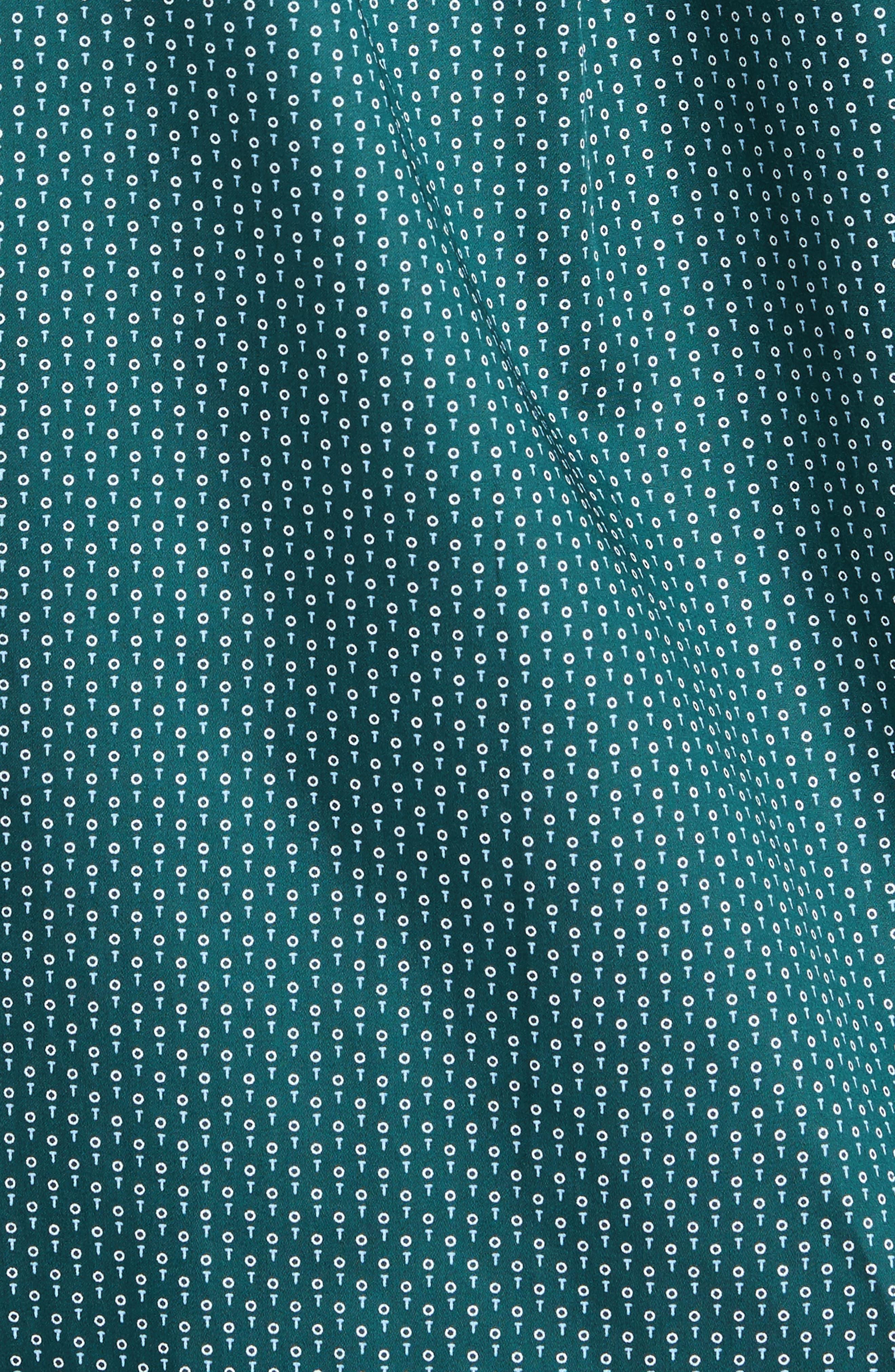 Golf Tee Print Sport Shirt,                             Alternate thumbnail 5, color,