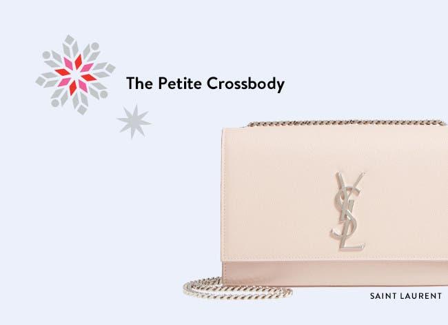 Designer holiday gifts: Saint Laurent handbag.