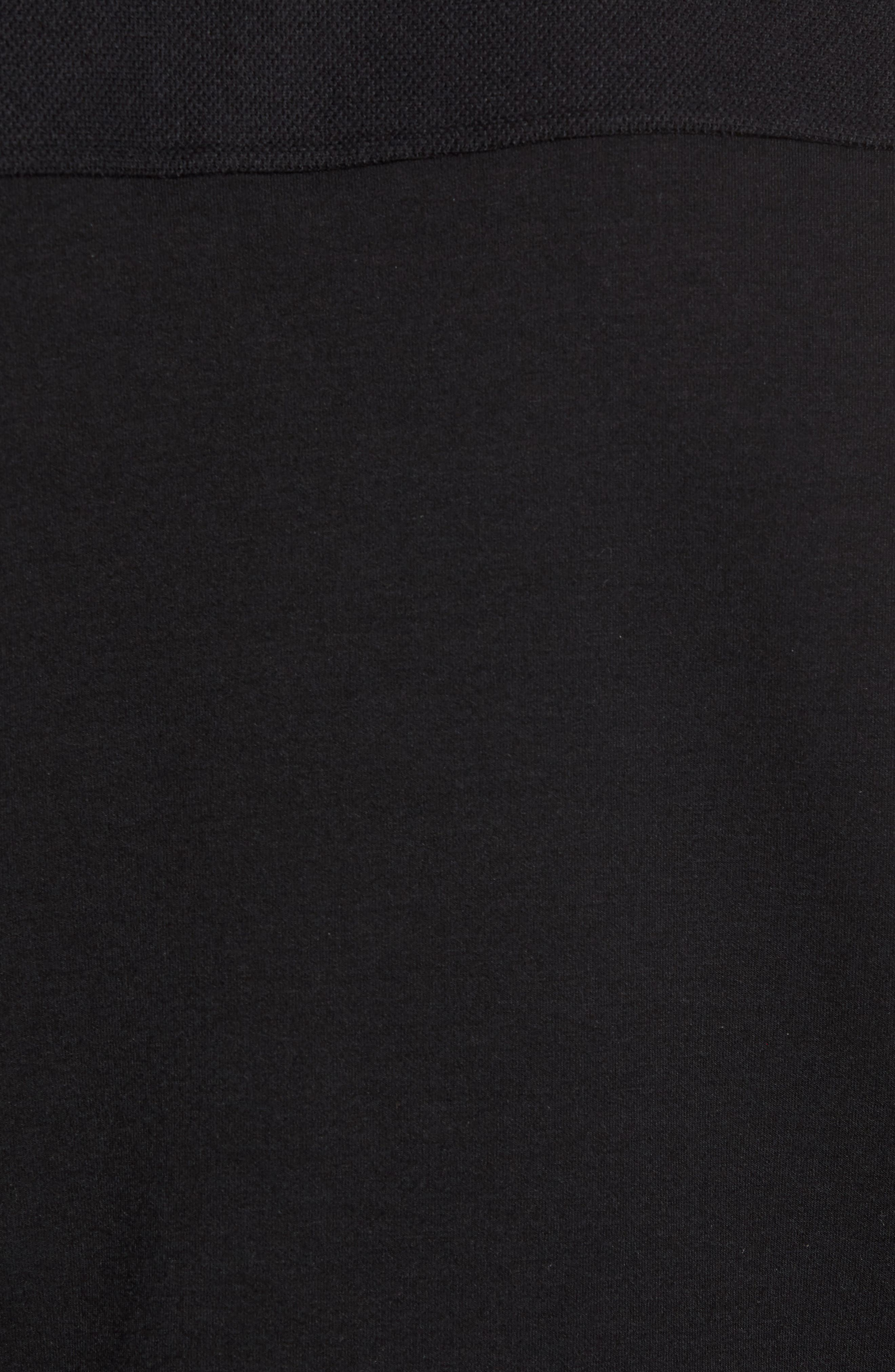 Livstay Slim Fit Quarter Zip Pullover,                             Alternate thumbnail 5, color,                             001